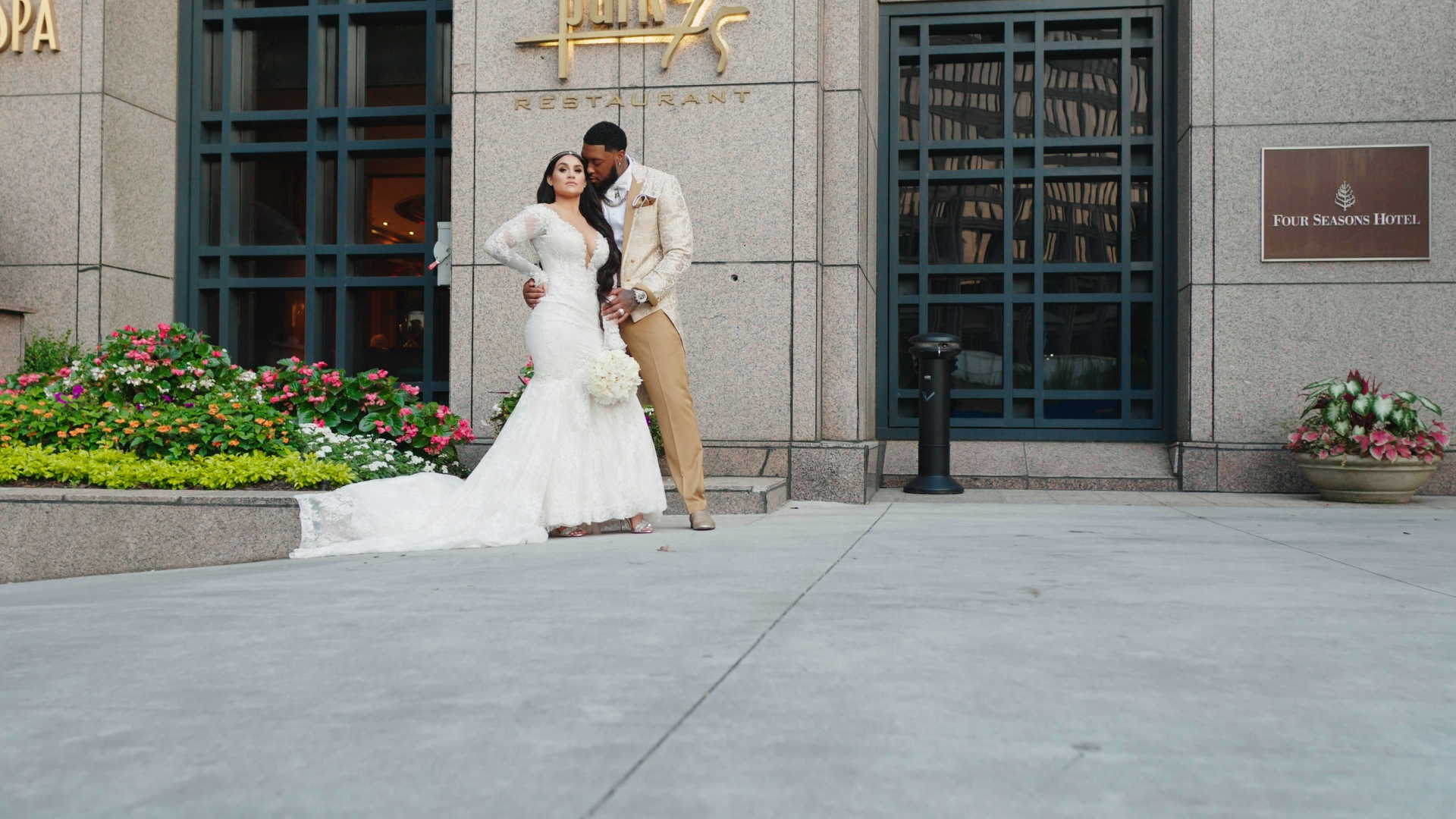 Madison + Benardrick | Atlanta, Georgia | Four Seasons Hotel