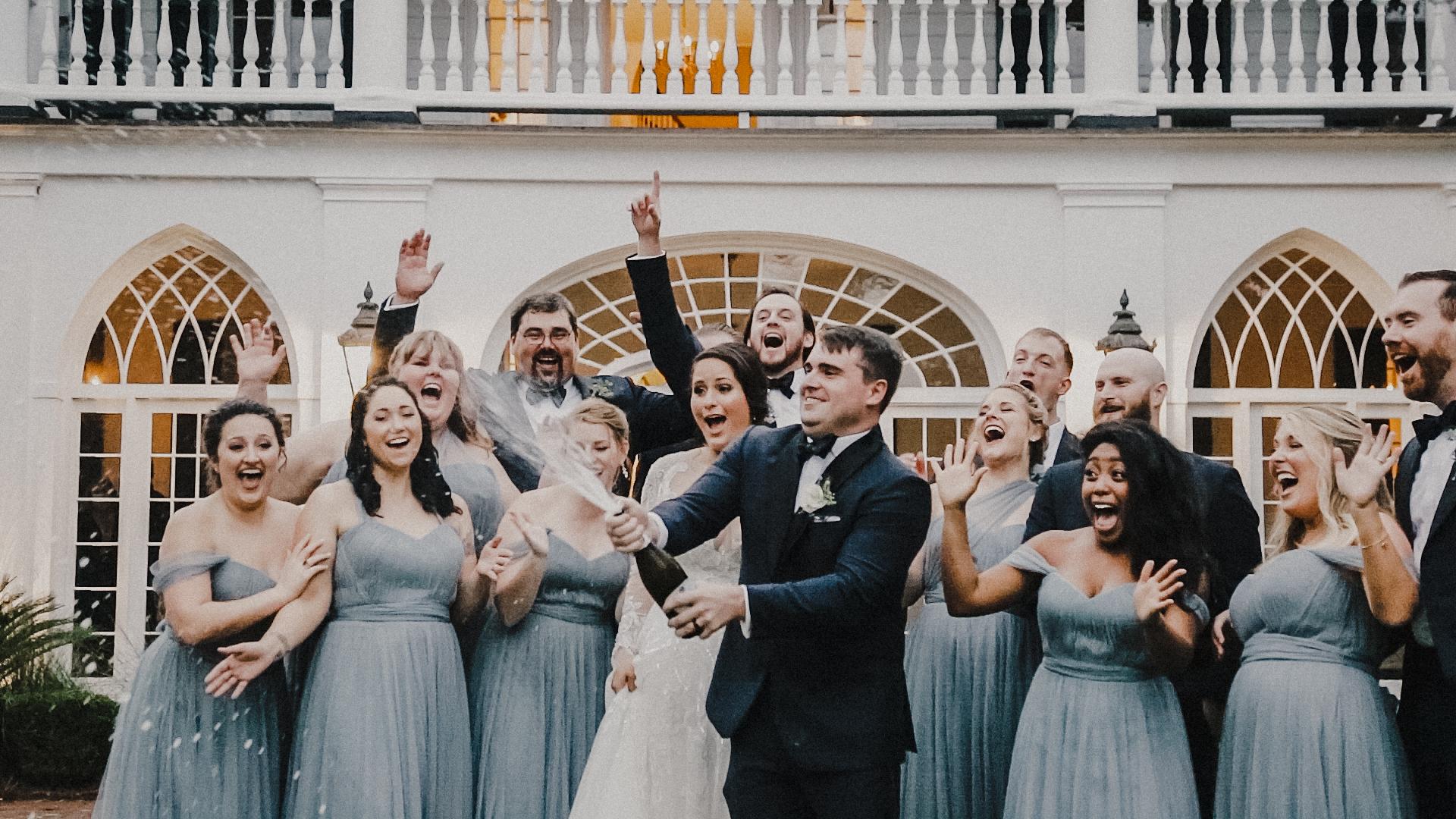 Rachel + Eric | Charleston, South Carolina | Lowndes Grove