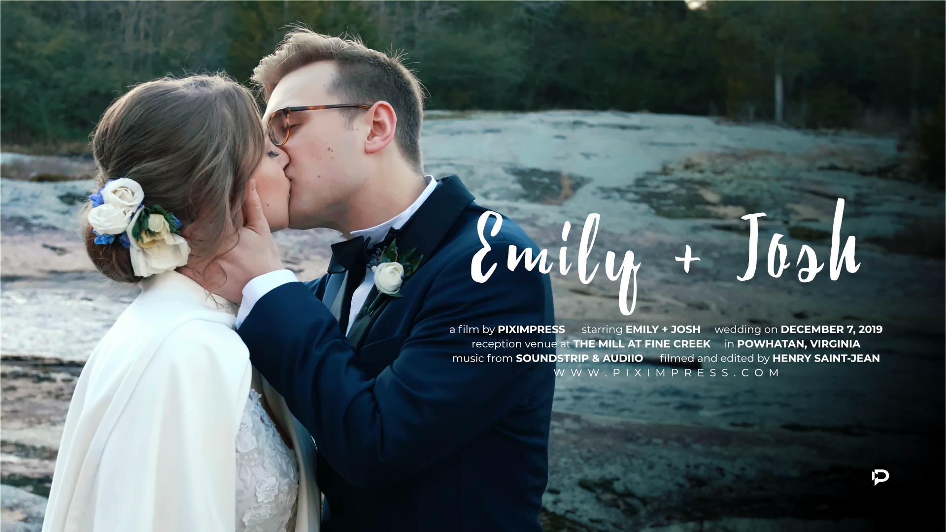 Emily + Josh | Powhatan, Virginia | The Mill at Fine Creek