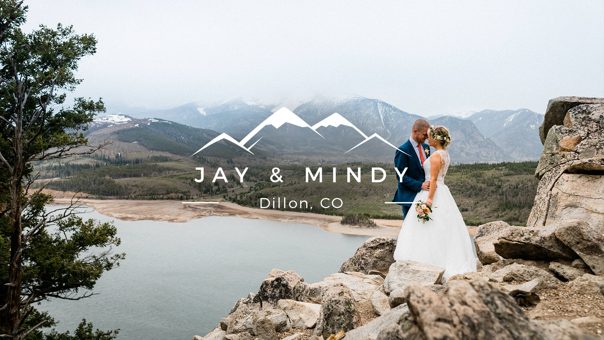 Mindy + Jay | Dillon, Colorado | Dillon Marina Park