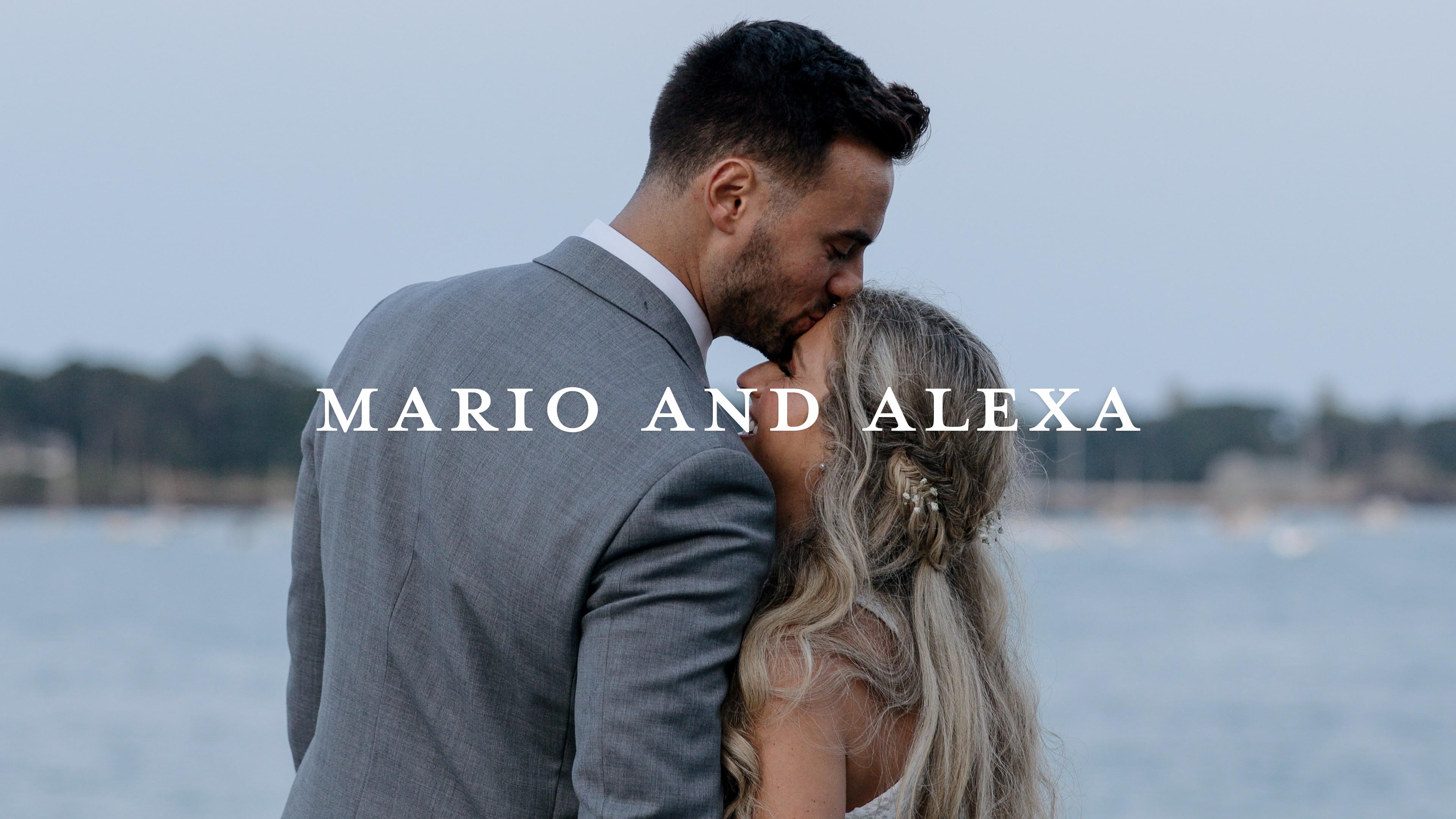 Mario + Alexa | Nahant, Massachusetts | Oceanview of Nahant