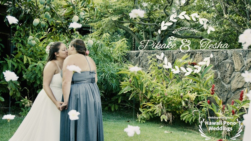 Pikake + Tesha  | Honolulu, Hawaii | a private home