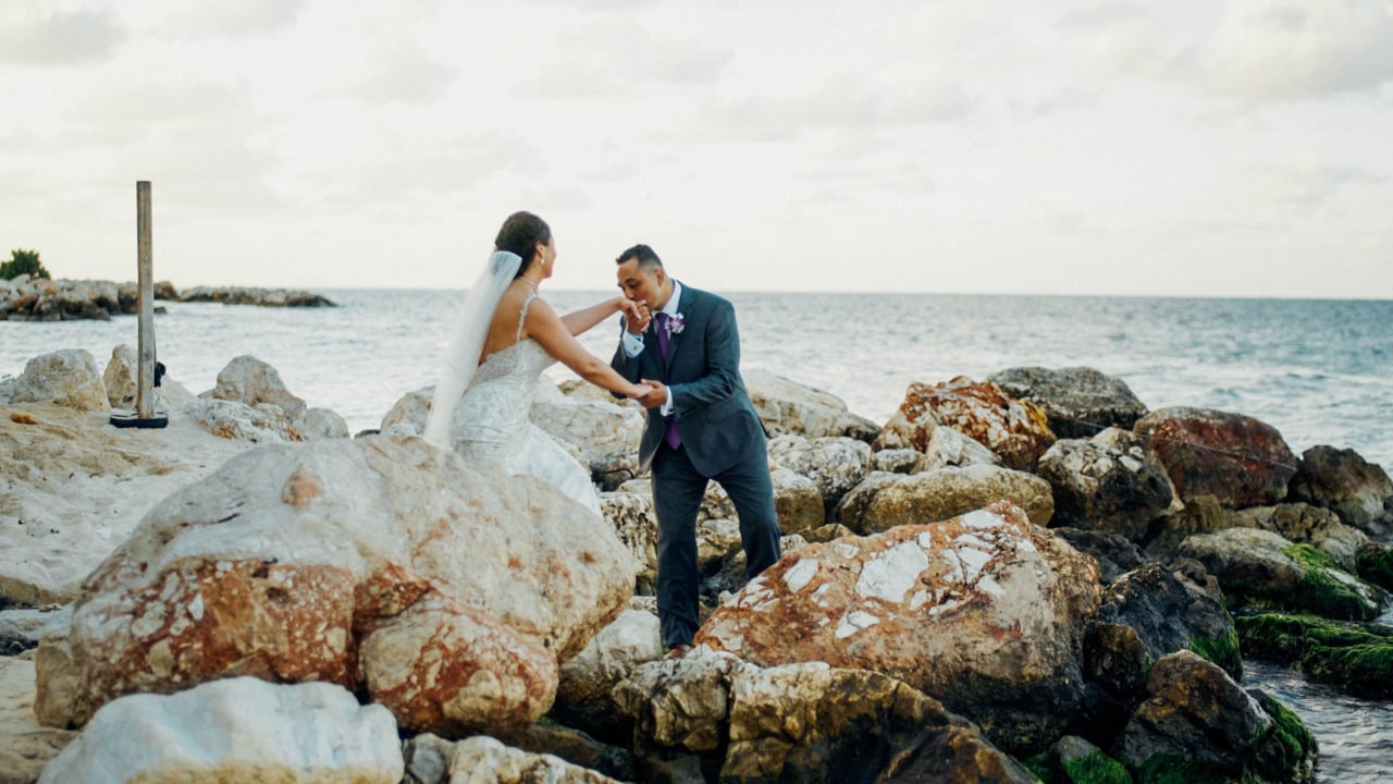 Alissa + Jason | Montego Bay, Jamaica | iberostar jamaica