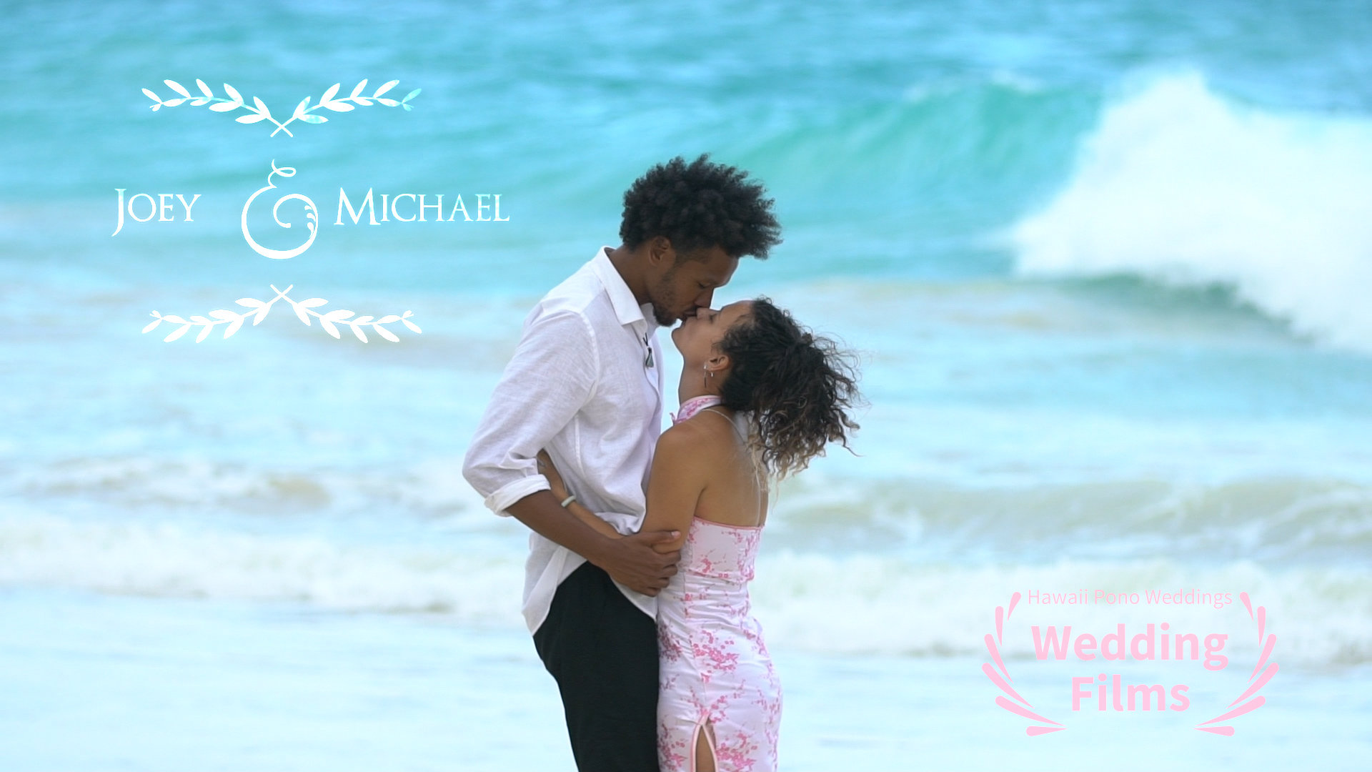Joey + Michael | Waimanalo Beach, Hawaii | Beach