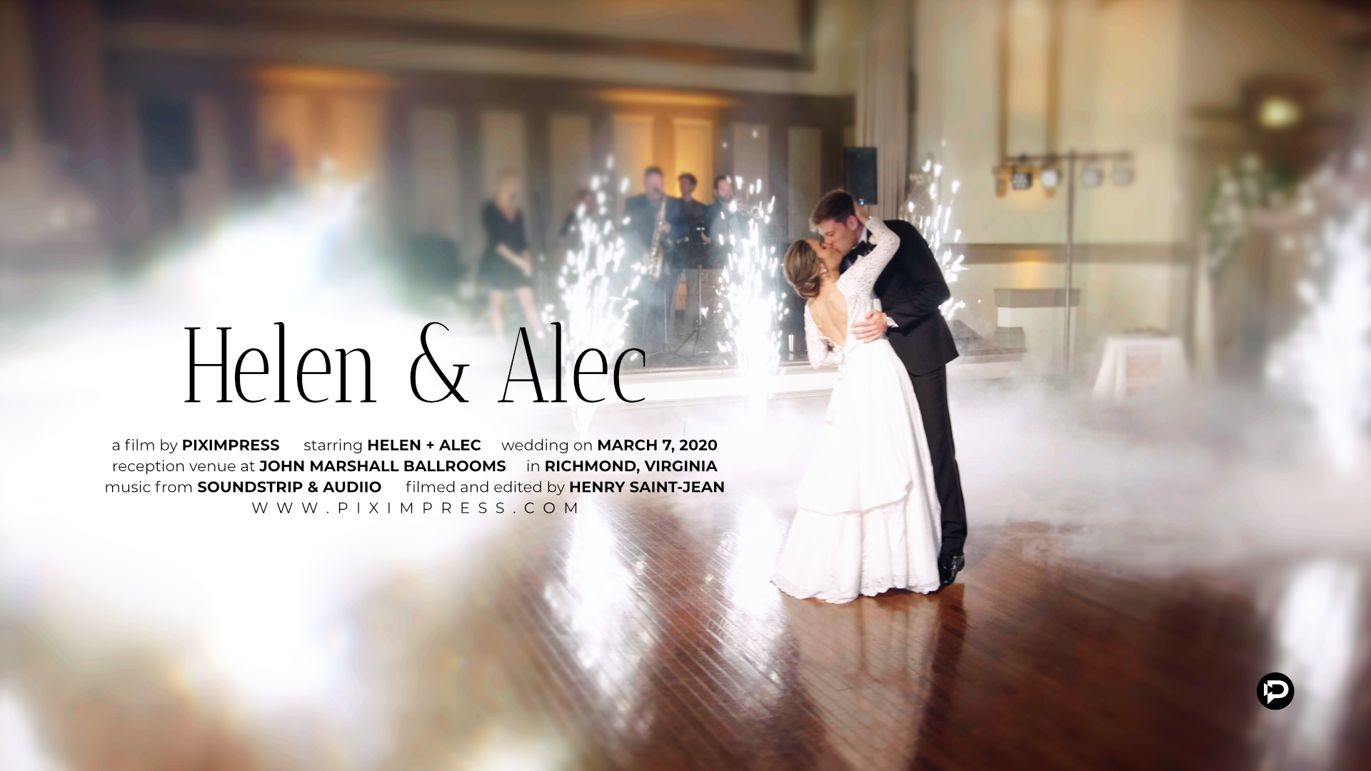 Helen + Alec | Richmond, Virginia | John Marshall Ballrooms