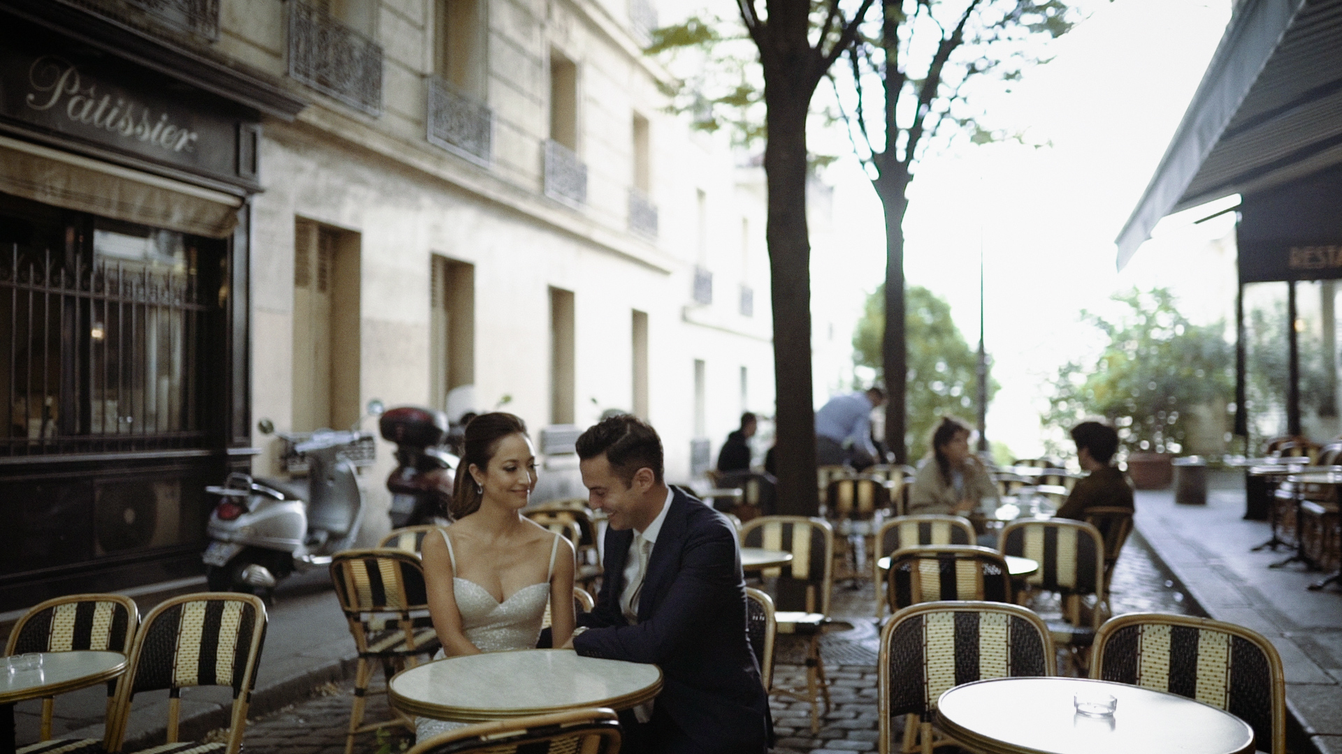Harumi + Jonathan | Paris, France | hotel