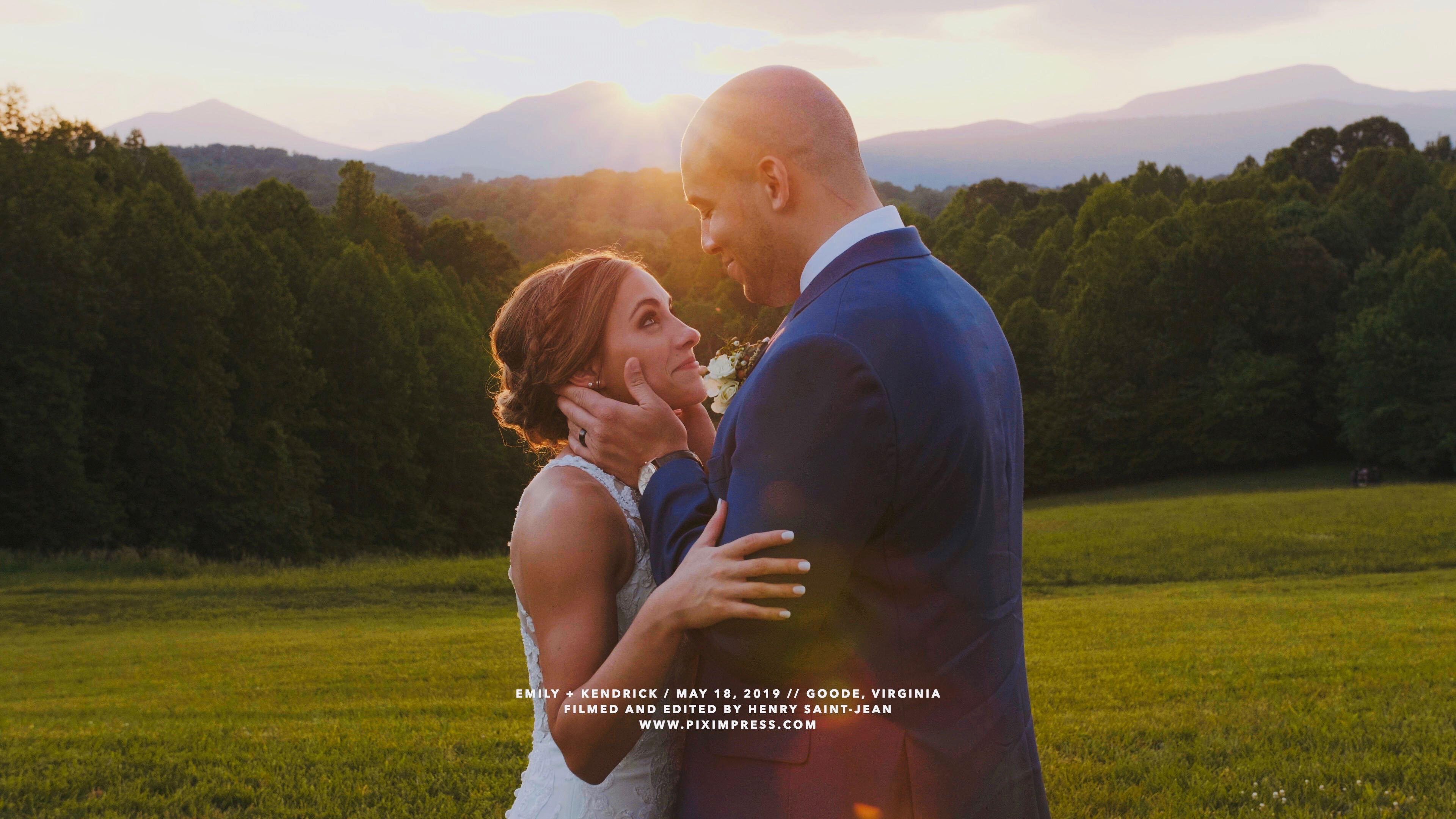 Emily + Kendrick | Goode, Virginia | Glass Hill Venue