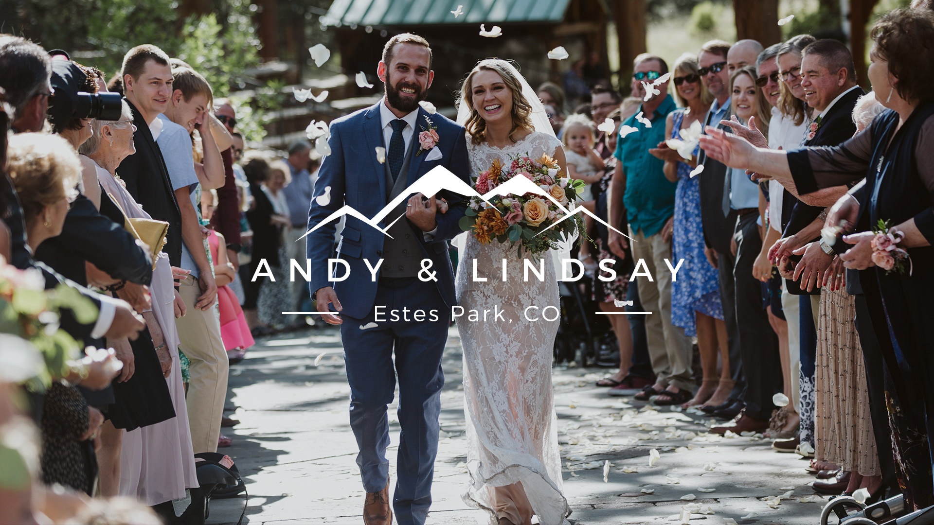 Lindsay + Andy | Estes Park, Colorado | Della Terra Mountain Chateau