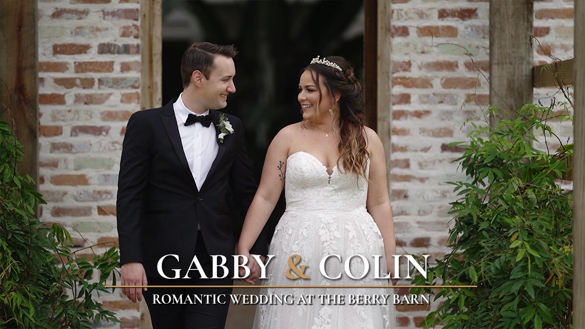 Gabby + Colin | Amite City, Louisiana | The Berry Barn