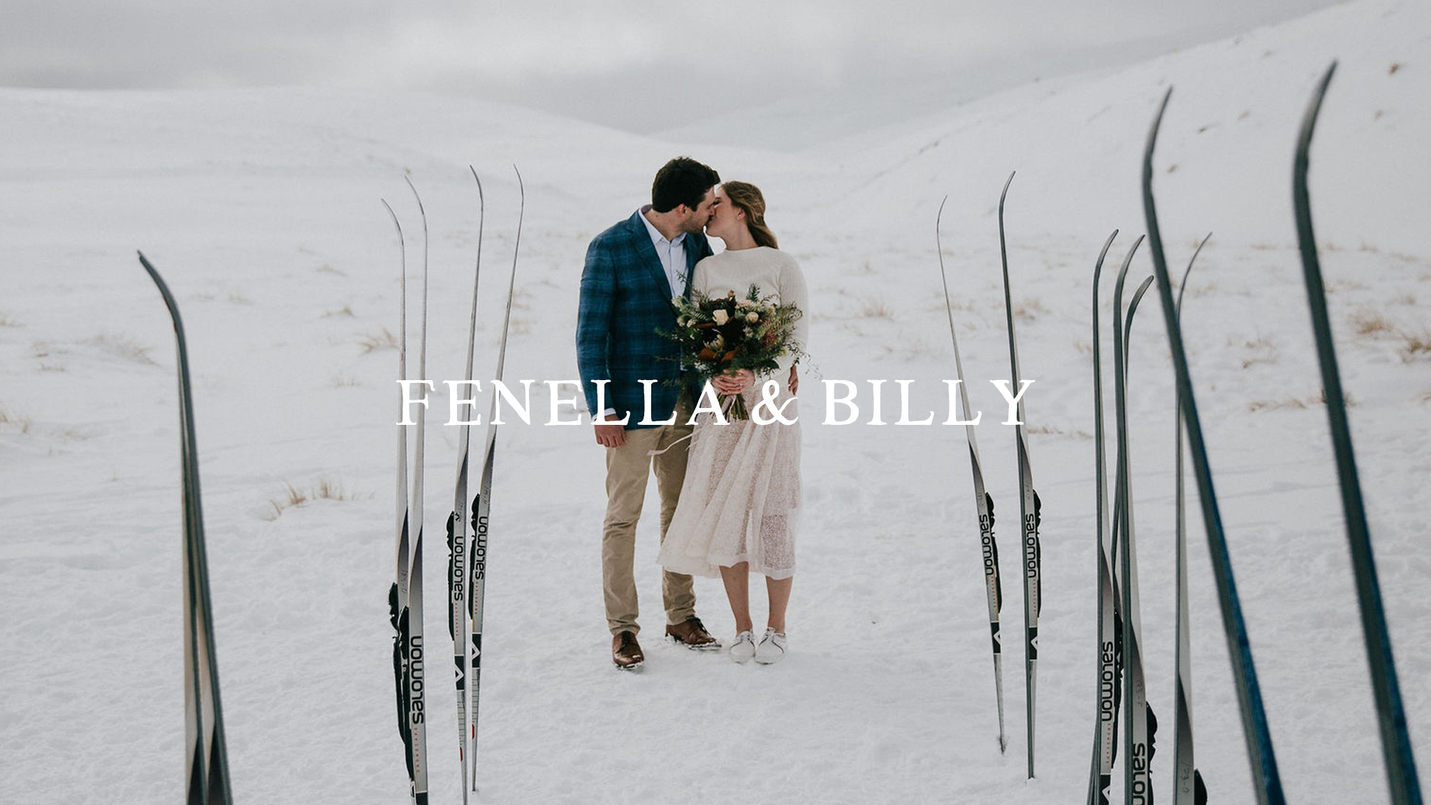 Fenella + Billy | Queenstown, New Zealand | Snow Farm