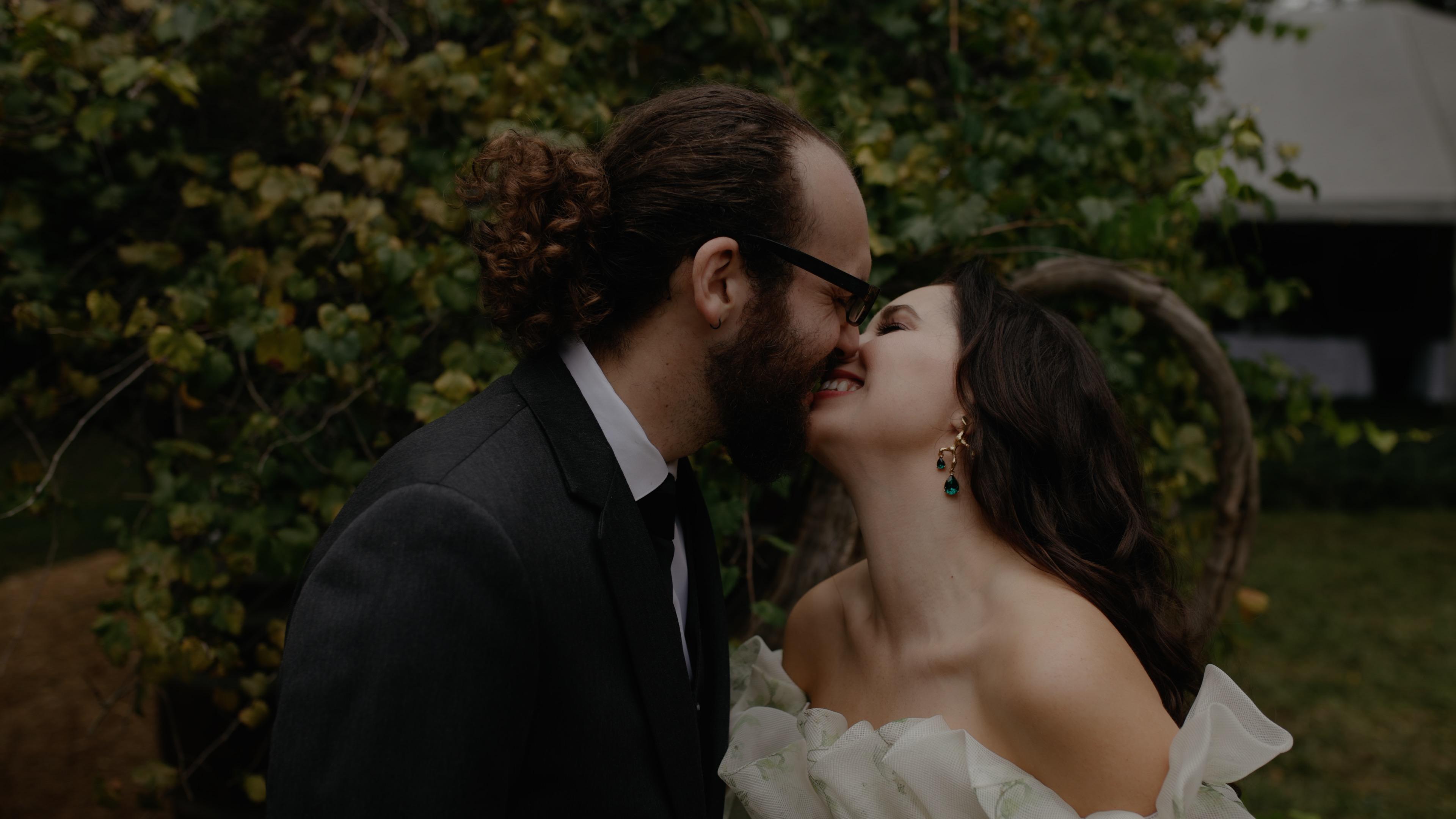 Catherine + Adam | Charlotte, North Carolina | Brides parents home.