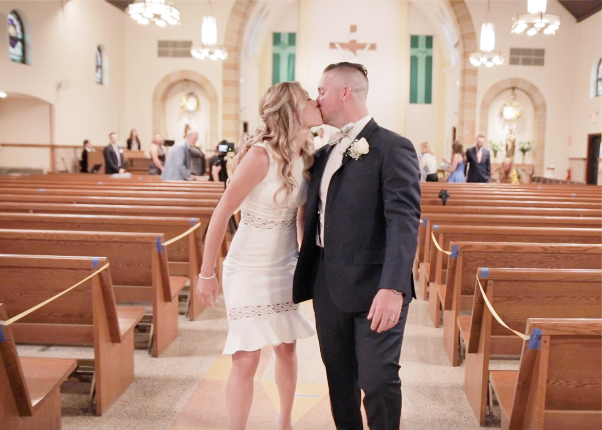 Lindsey + Ryan | Oradell, New Jersey | a Catholic Church