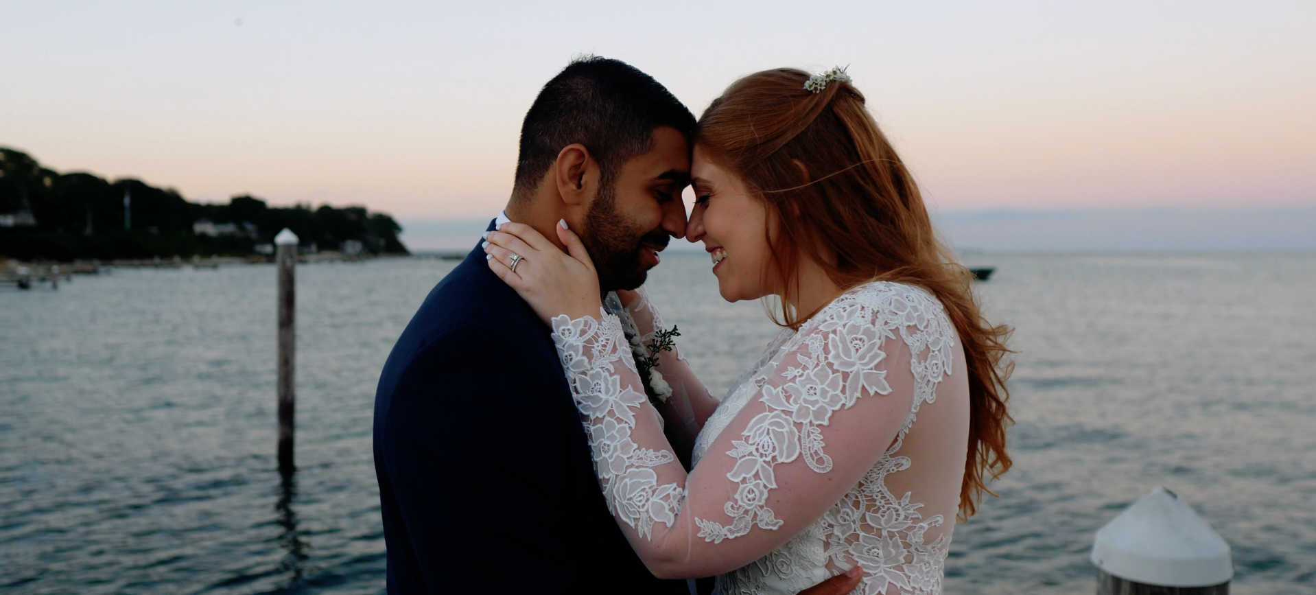 Nicole + Angad | Oak Bluffs, Massachusetts | Vineyard Haven Yacht Club, Oak Bluffs