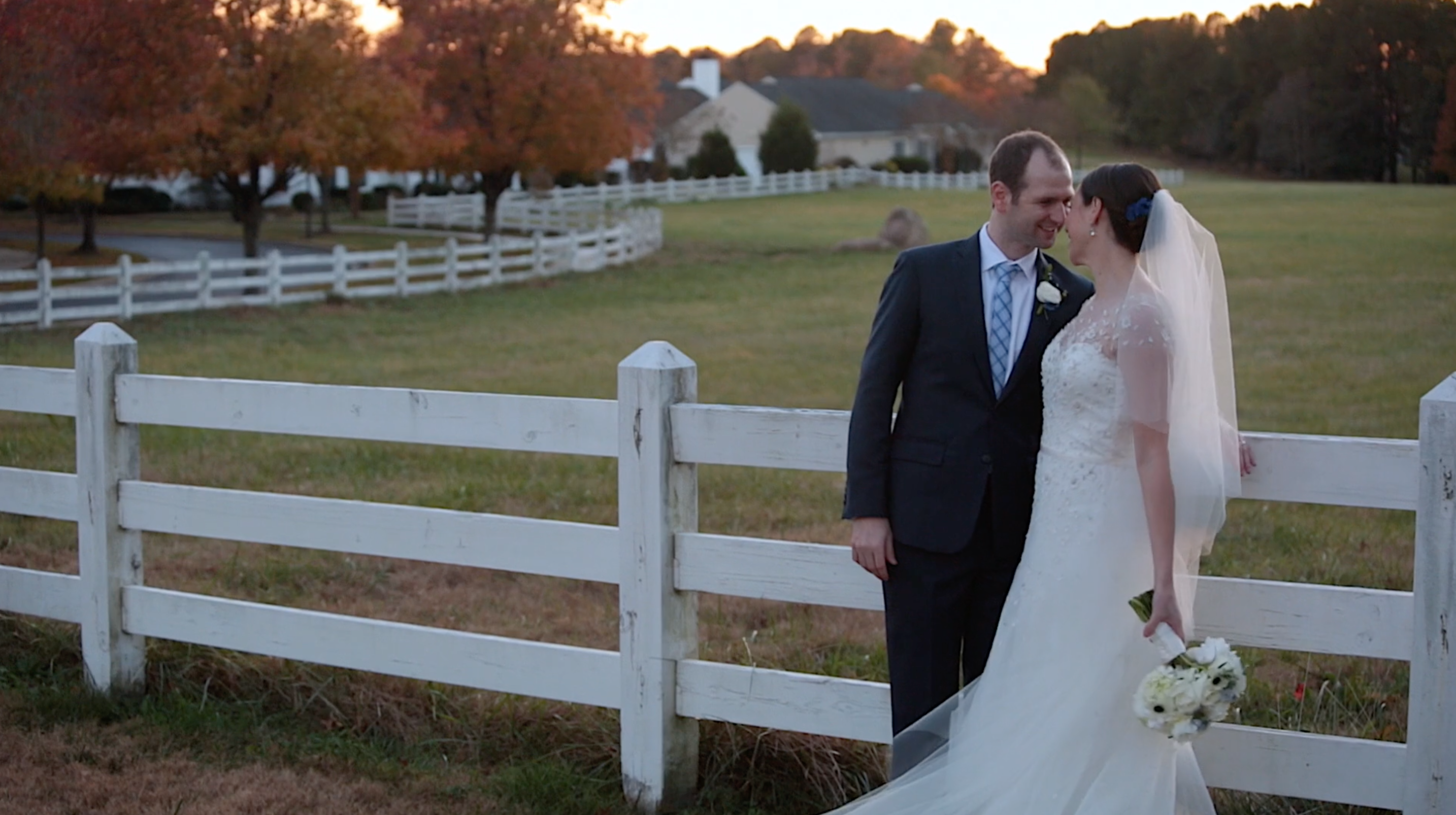 Melissa + Adam | Chapel Hill, North Carolina | Fearrington Village Barn