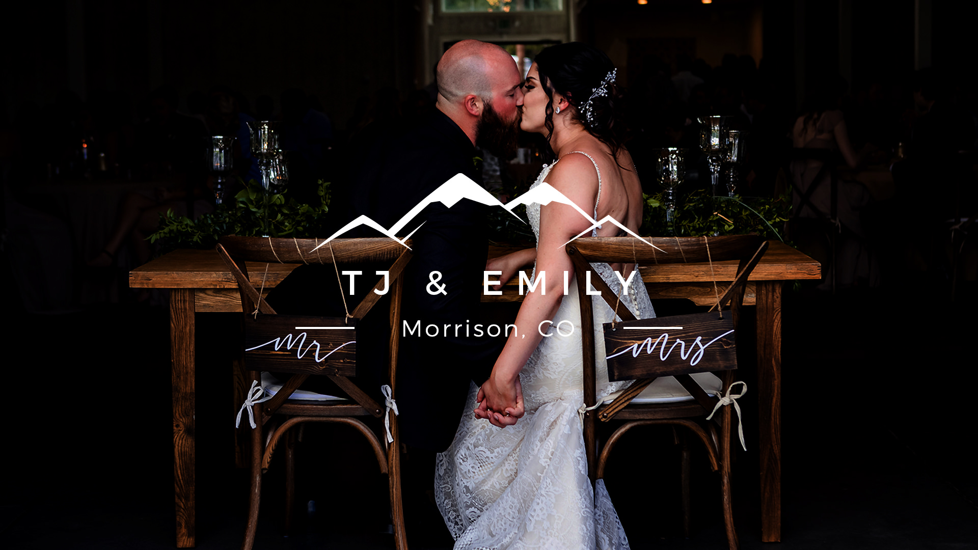 Emily + TJ | Morrison, Colorado | The Woodlands Venue