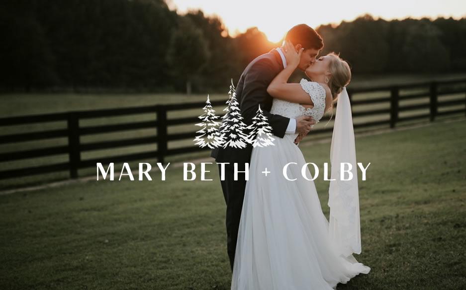 Mary Beth + Colby | Watkinsville, Georgia | Vintage Oaks Farm