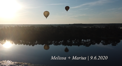 Melissa + Marius | Orlando, Florida | Hot Air Balloon