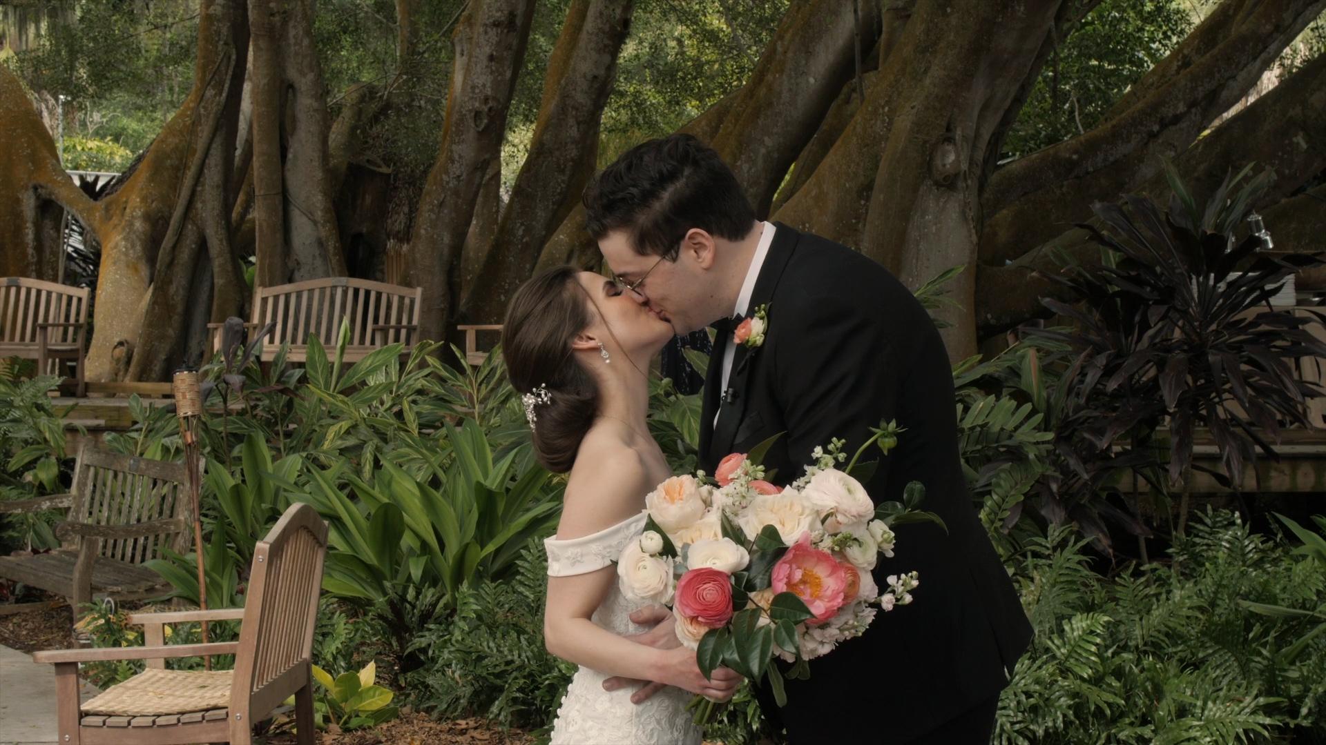 Erica  + Daniel   Sarasota, Florida   Marie Selby Botanical Gardens
