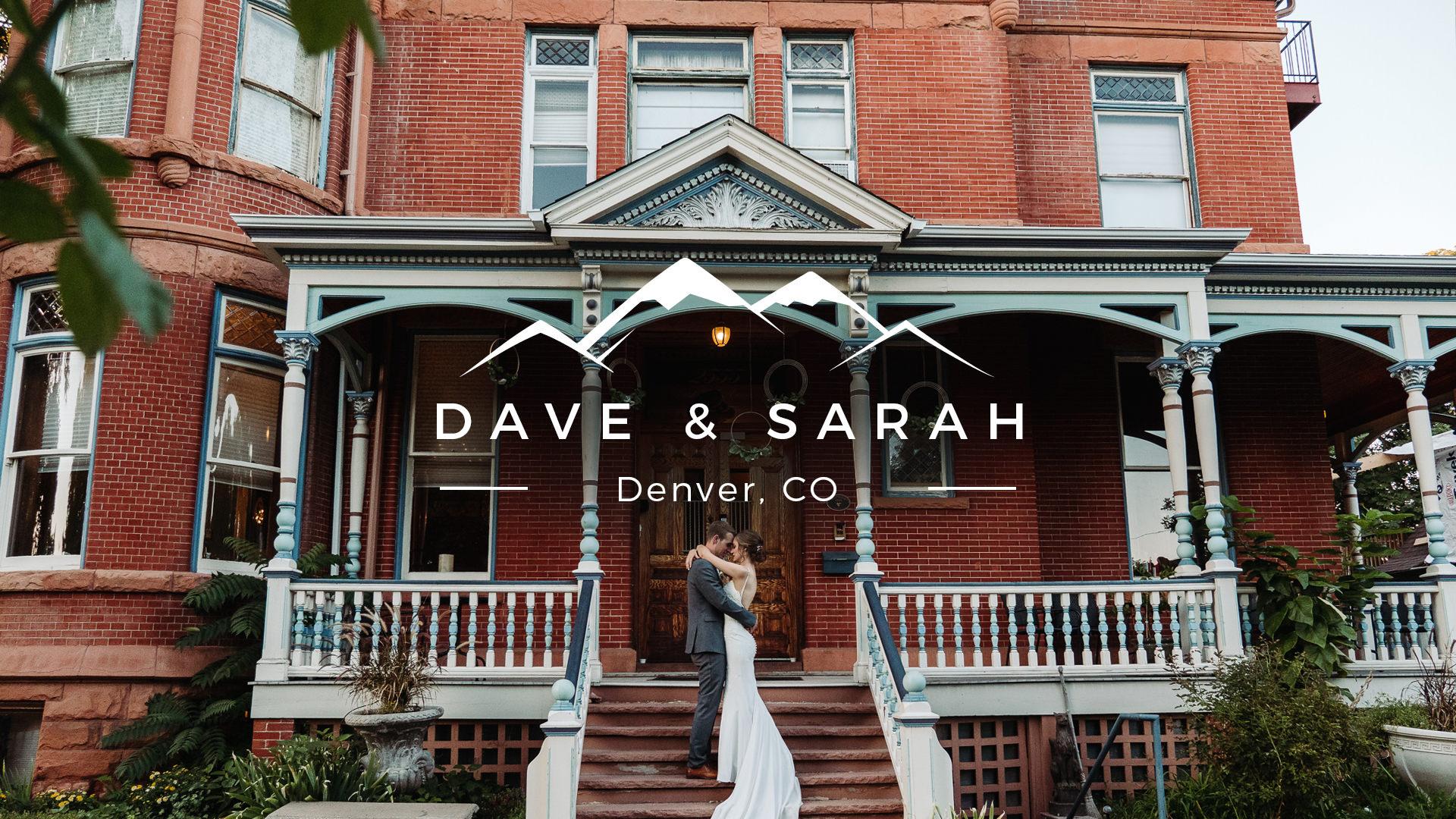 Sarah + Dave | Denver, Colorado | Lumber Baron Inn & Gardens