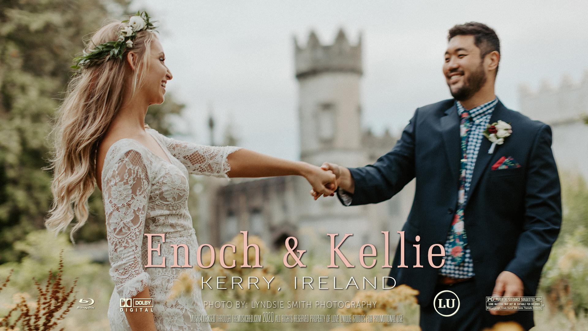 Enoch + Kelly | Tralee, Ireland | Ballyseede Castle Hotel