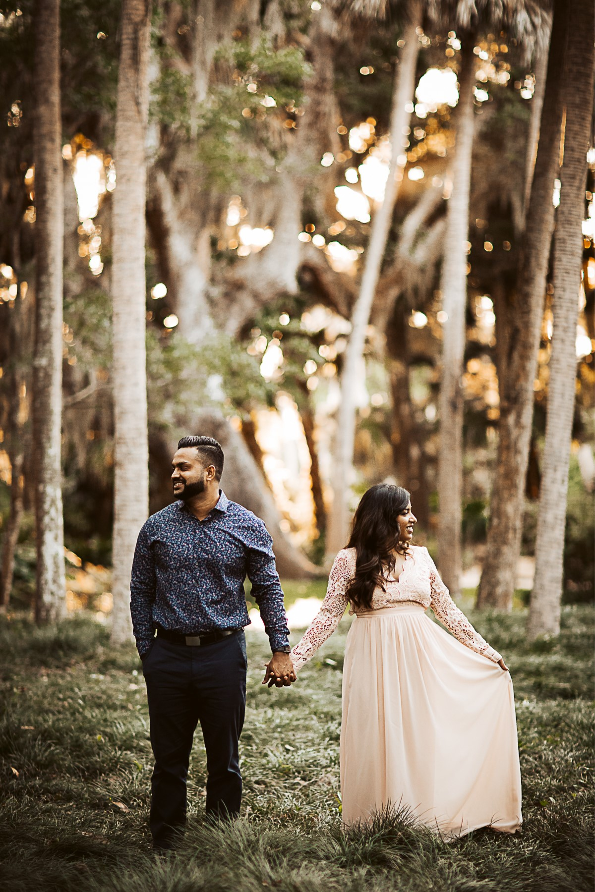 Sherleen + Tushar | Palm Coast, Florida | Washington Oaks States Park