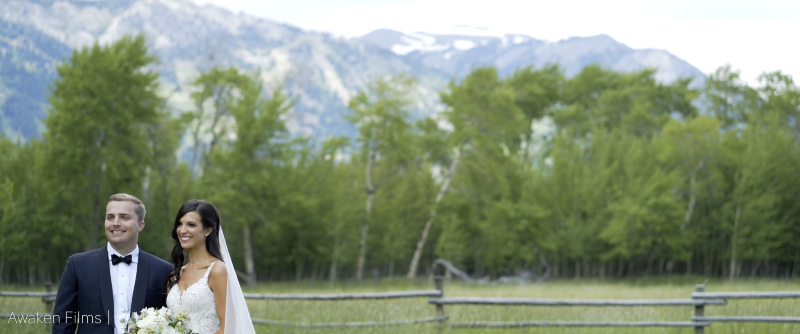 Miles + Alex | Wilson, Wyoming | Snake River Ranch