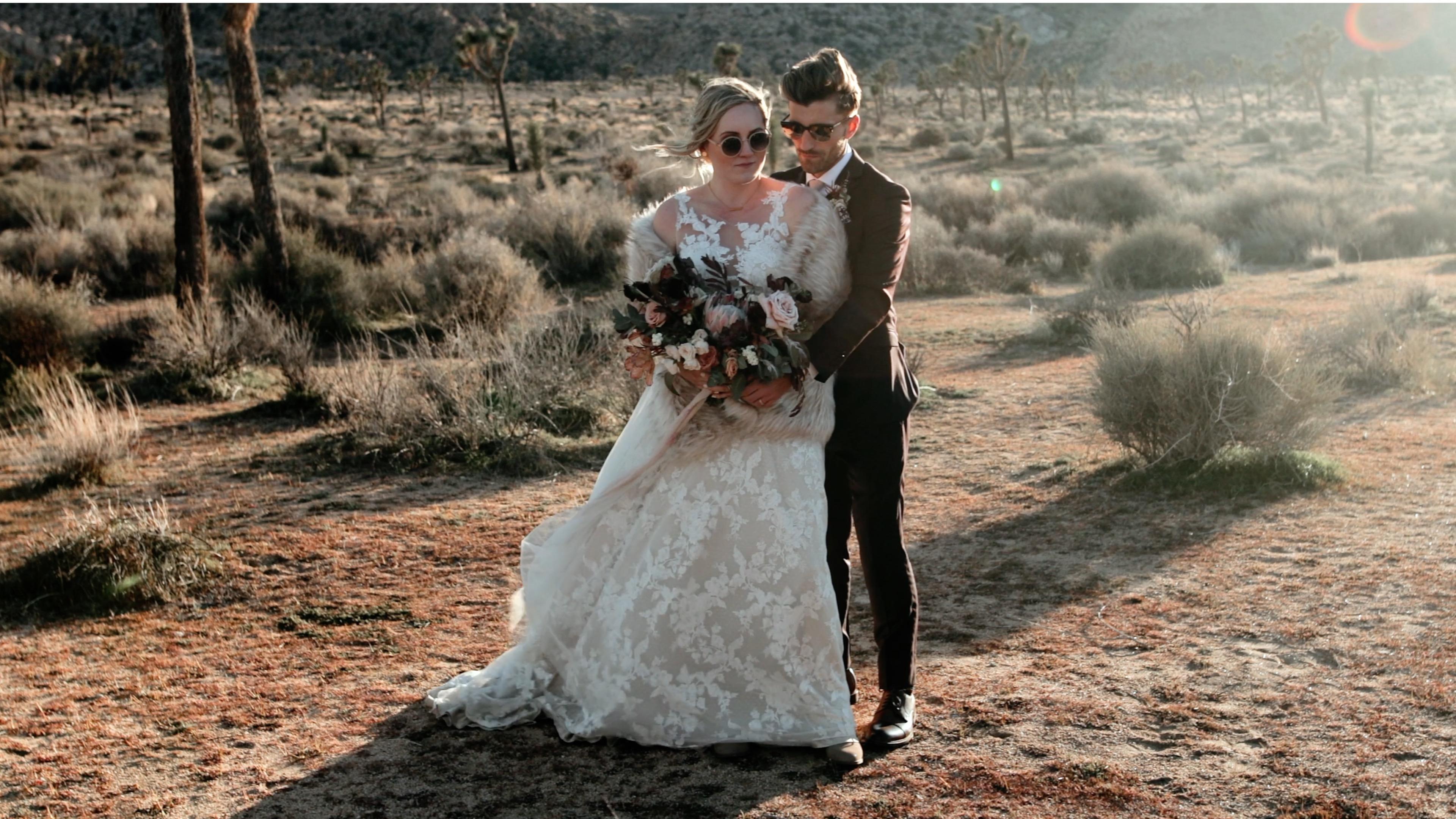 Jordan + Josh | Joshua Tree, California | The Hi Desert Ranch