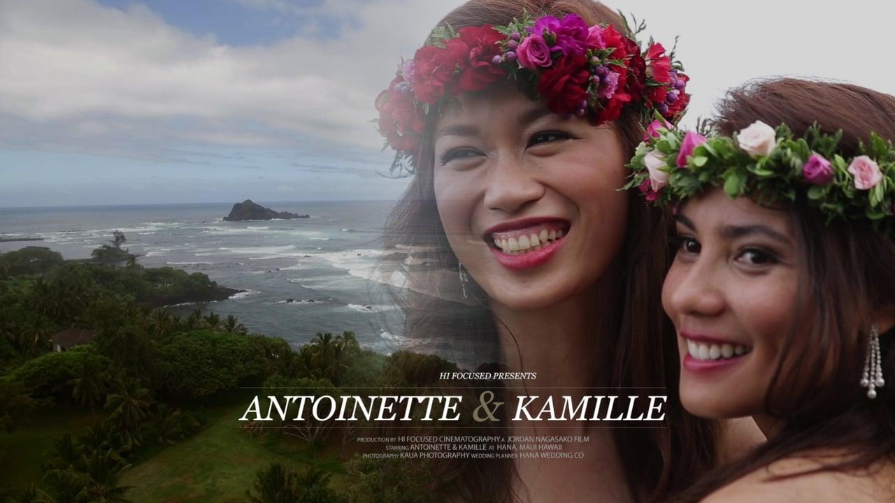 Antoniette + Kamille | Hana, Hawaii | Travaasa Maui