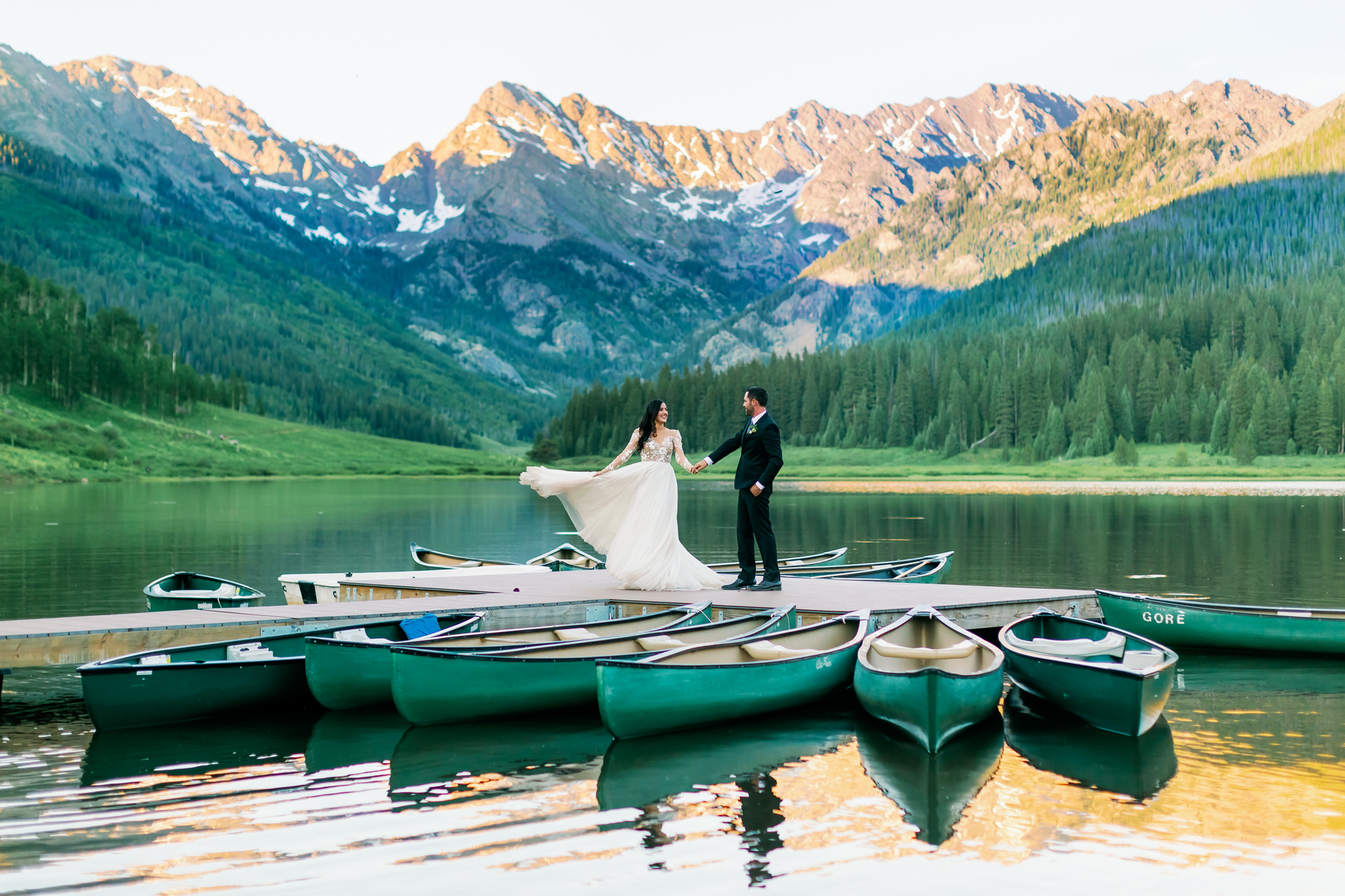 Jessica + Matt | Vail, Colorado | Piney River Ranch