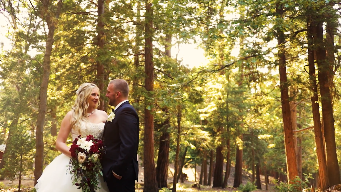 Eric  + Brittney | Twin Peaks, California | Pine Rose Cabins