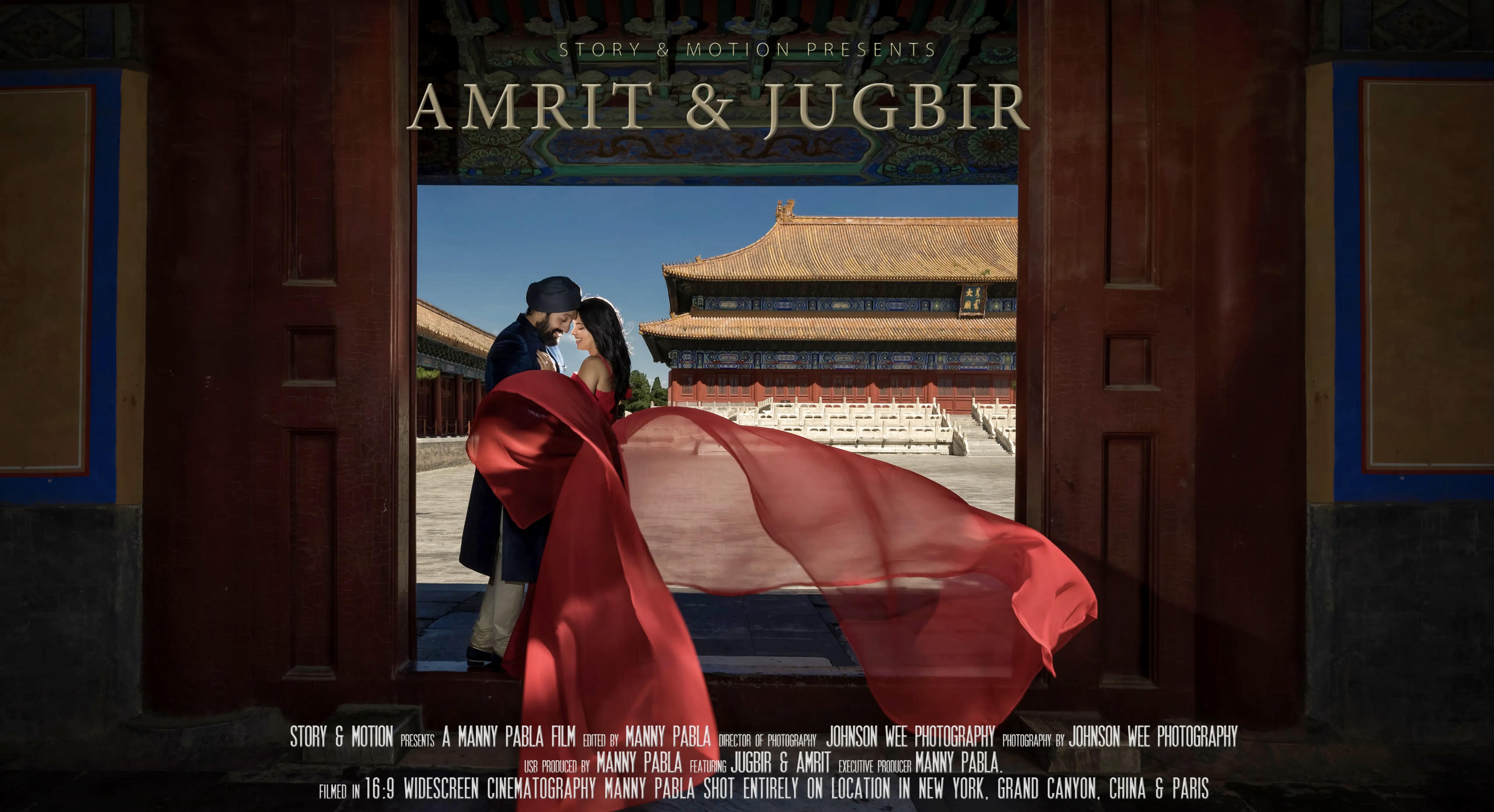 Amrit + Jugbir | New York, New York | The Rockefeller Centre