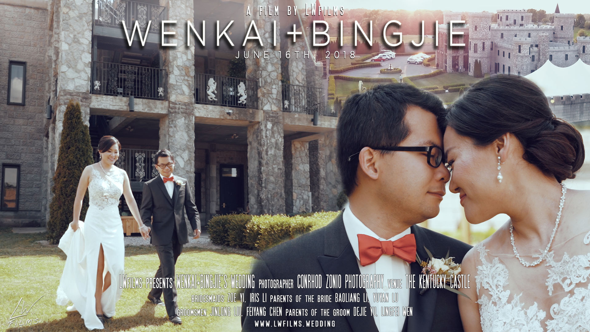 Wenkai Yu + Bingjie Li | Lexington, Kentucky | The Kentucky Castle