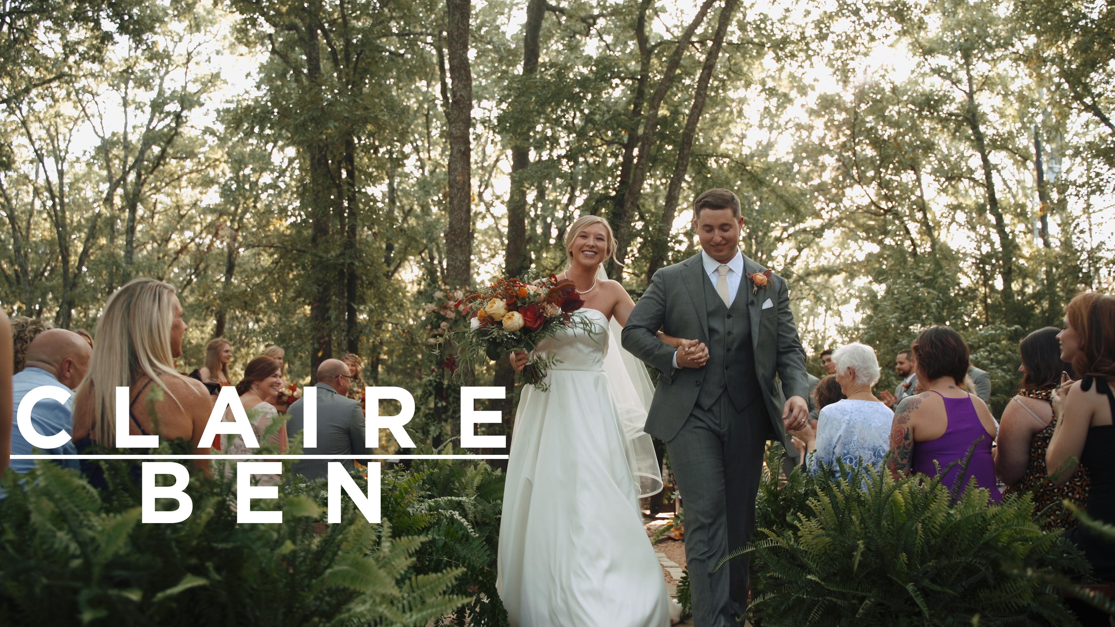 Claire + Ben | Greenville, Texas | Under The Wildwood