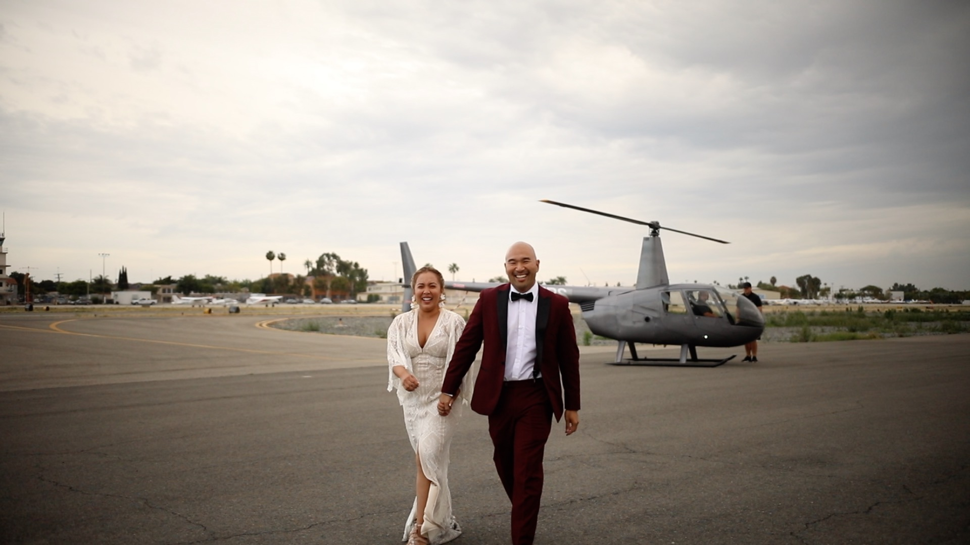 Camille + Vince | Diamond Bar, California | Hangar 21