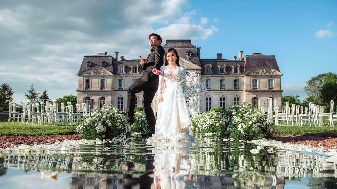 Monica  + Sherwin | Tours, France | Château d'Artigny