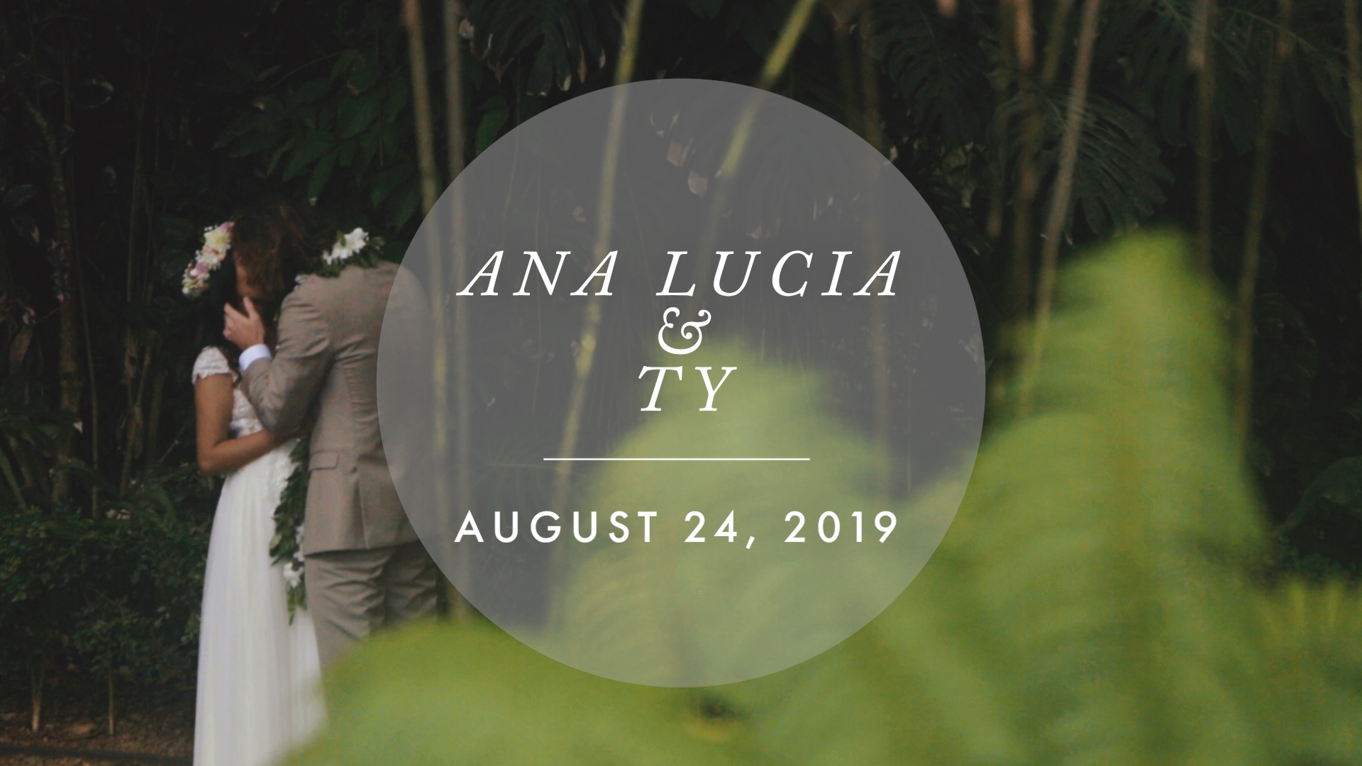 Ana Lucia + Ty | Haleiwa, Hawaii | Sunset Ranch