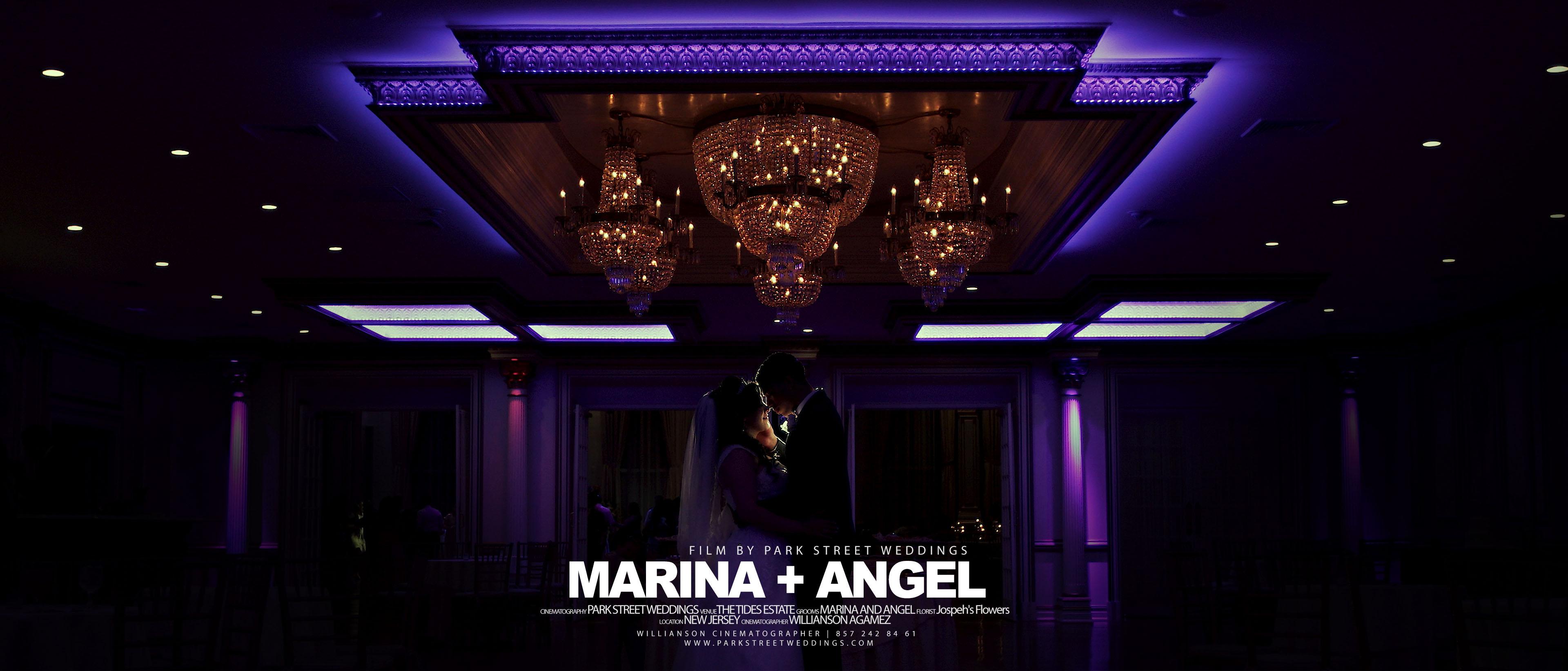 Angel + Marina | Jercey City, New Jersey | The Tides Estate
