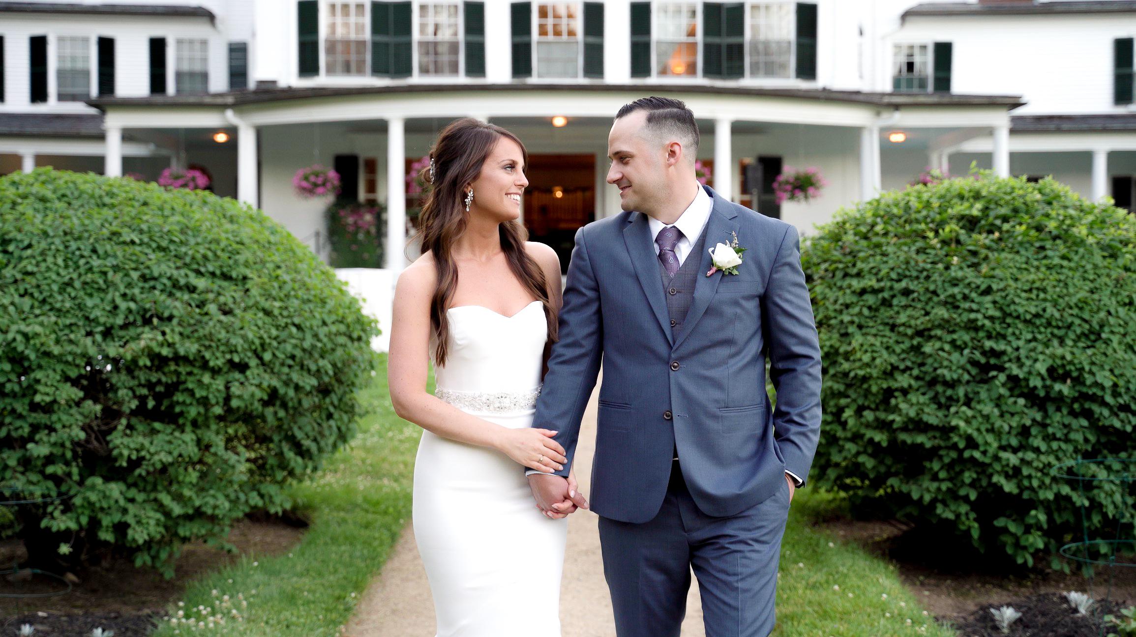 Kate + Bill | Danvers, Massachusetts | Glen Magna Farms