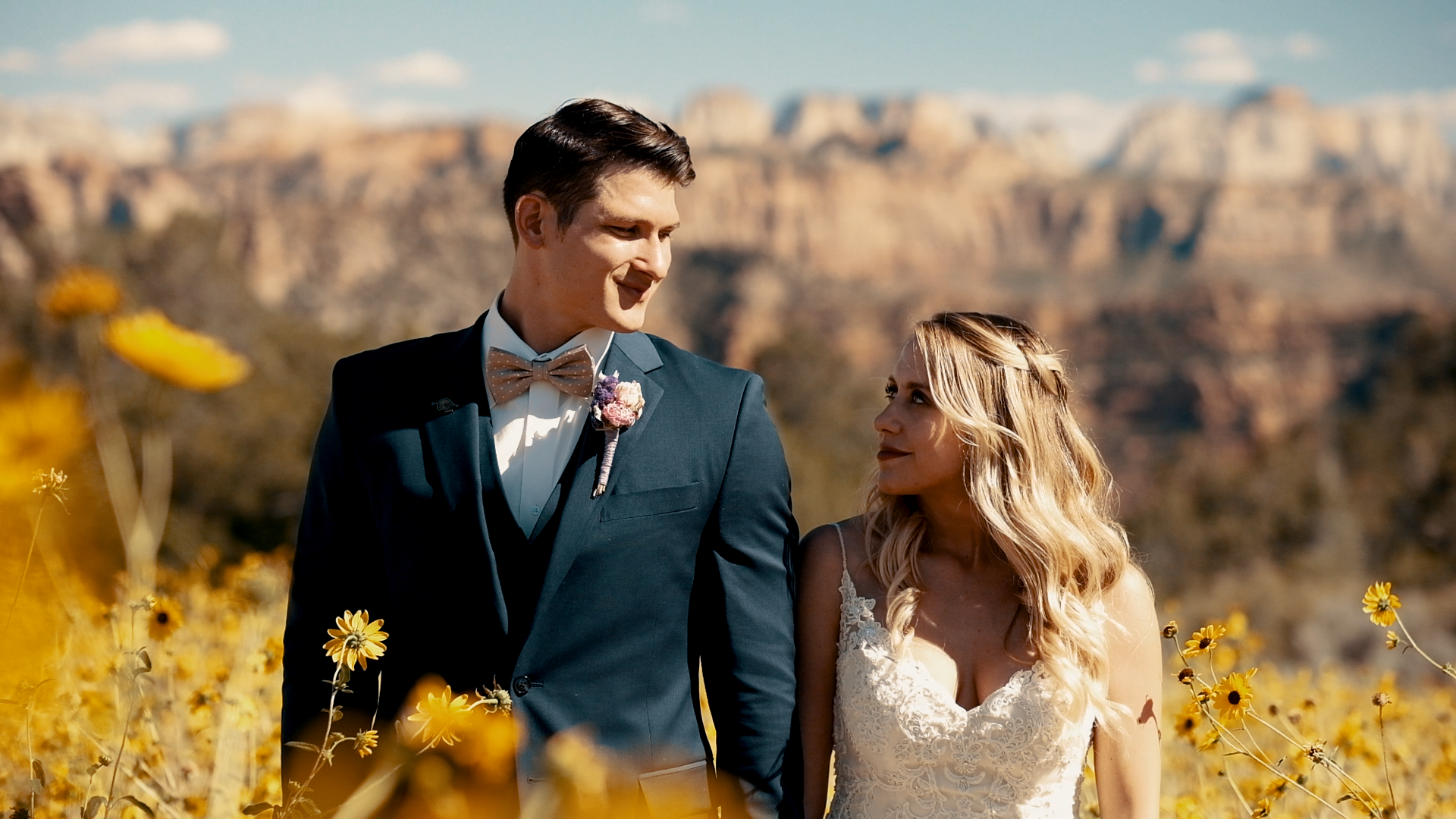 Lauren + Peter | Virgin, Utah | Zion National Park