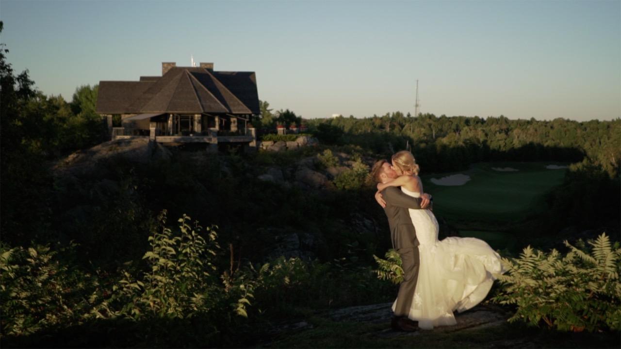 Emily + Andrew | Gravenhurst, Canada | Muskoka Bay Club Resort