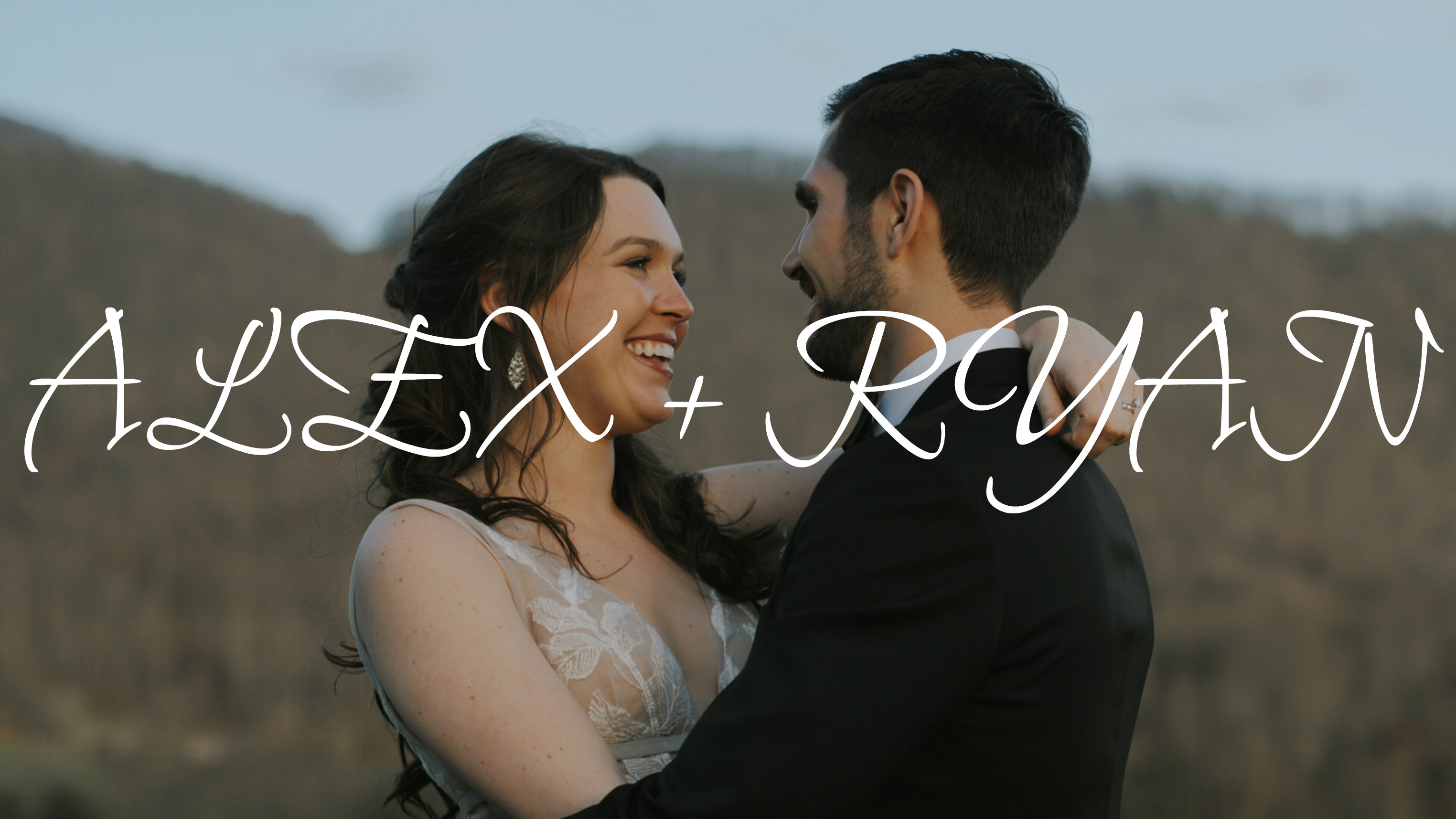 Alex + Ryan | Canton, North Carolina | Chestnut Ridge