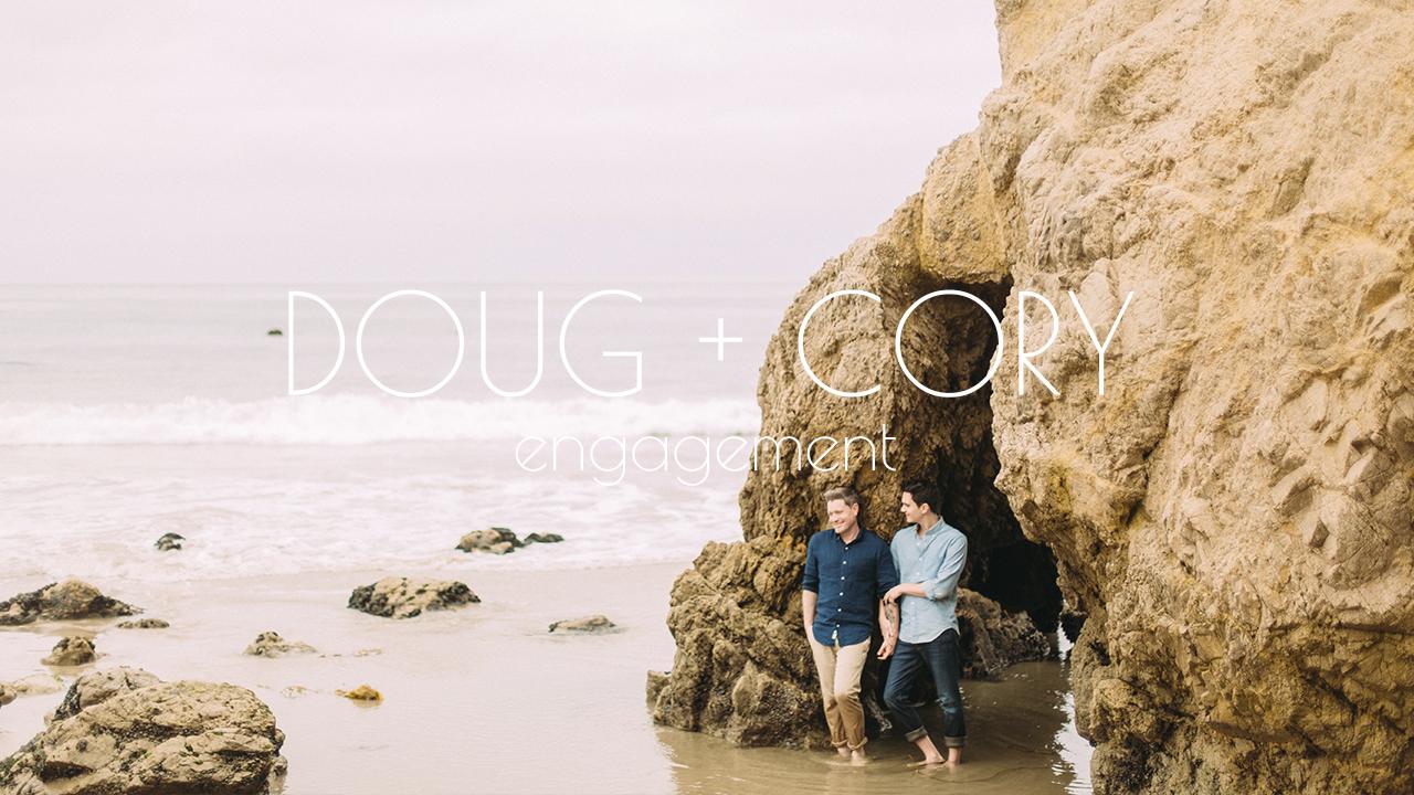 Doug + Cory | Malibu, California | el matador beach