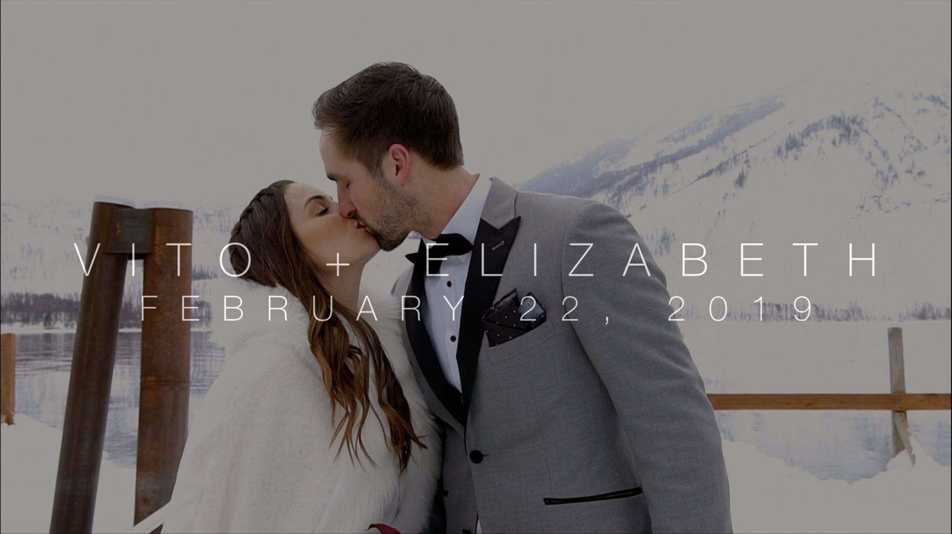 Elizabeth + Vito | Essex, Montana | Izaak Walton Inn
