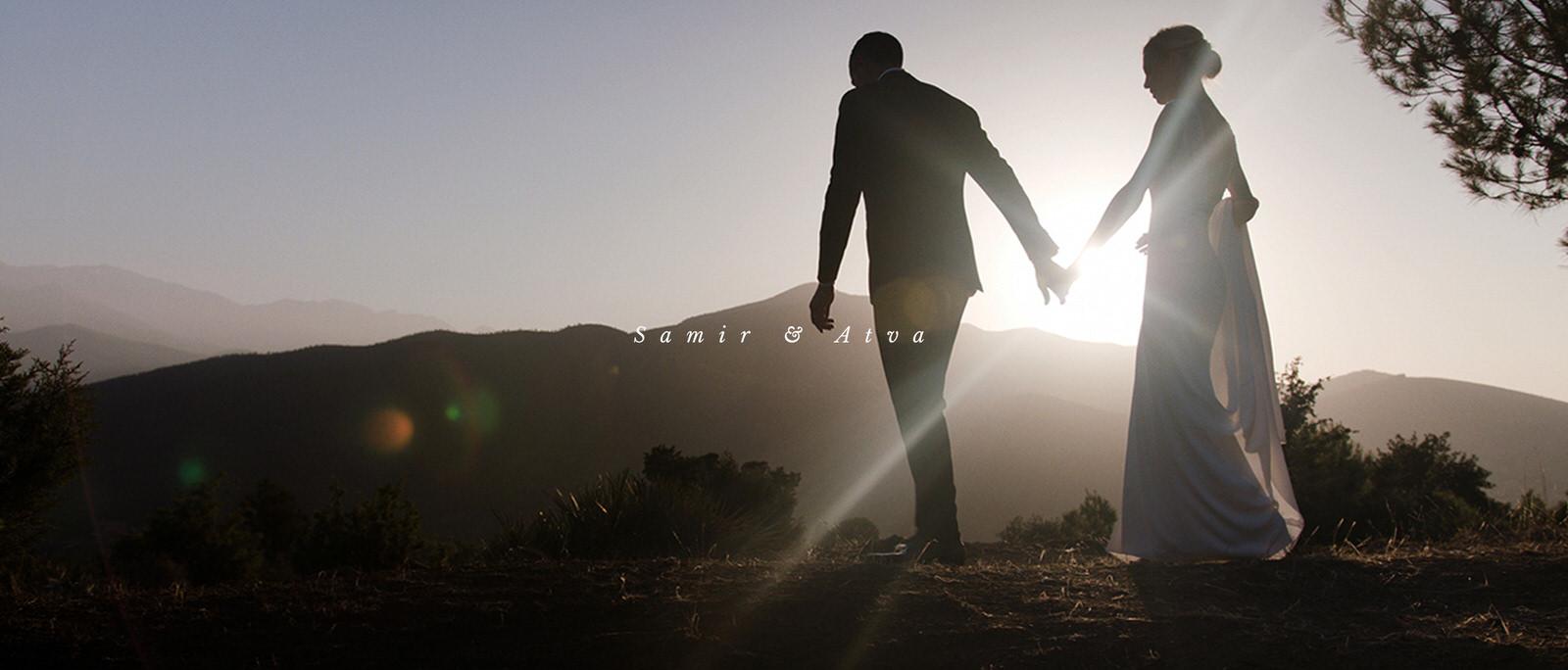 Samir + Atva | Ourika, Morocco | Kasbah Bab Ourika