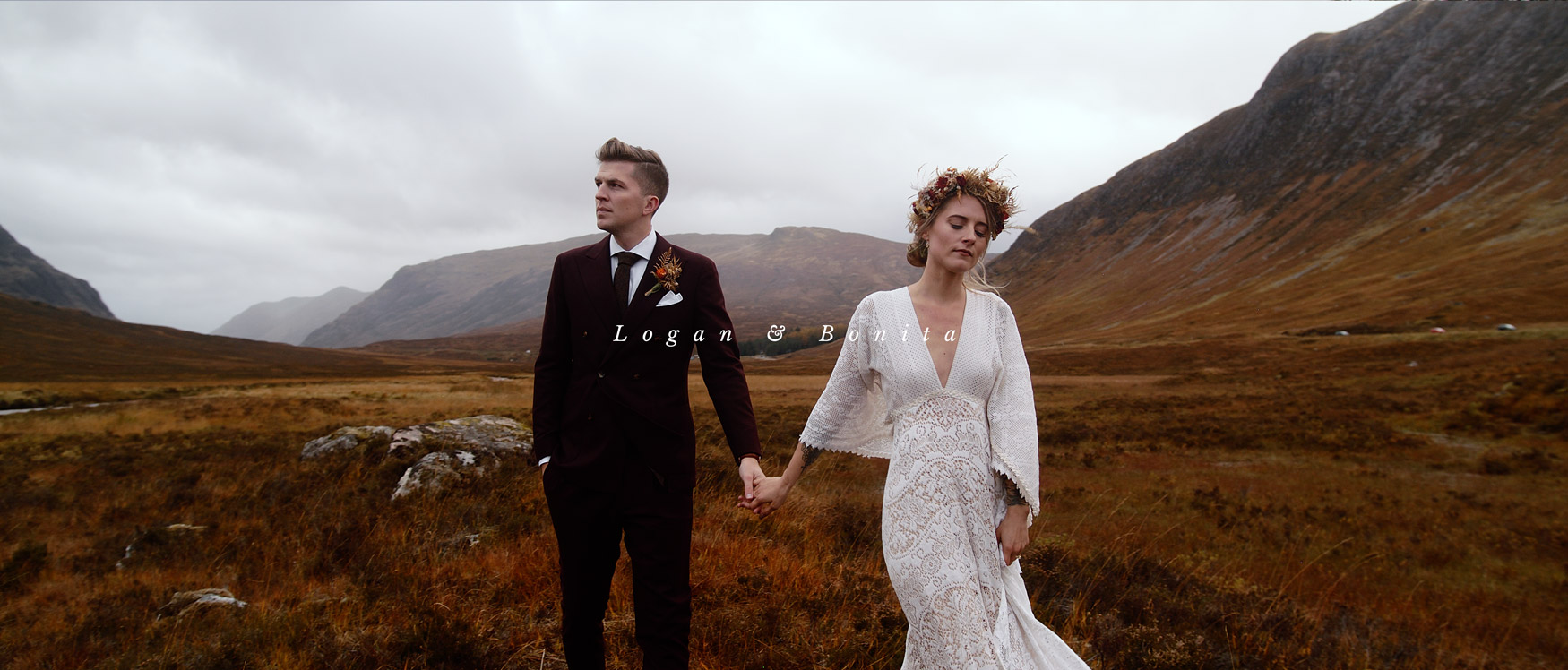 Logan + Bonita | Glencoe, United Kingdom | a hotel