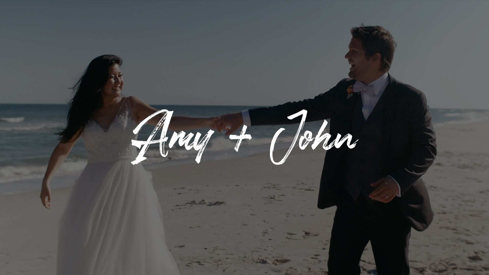 Amy Du + John Doyle | Saint George Island, Florida | a beach