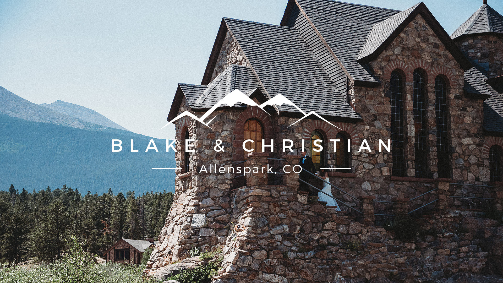 Blake + Christian | Allenspark, Colorado | The Chapel on the Rock