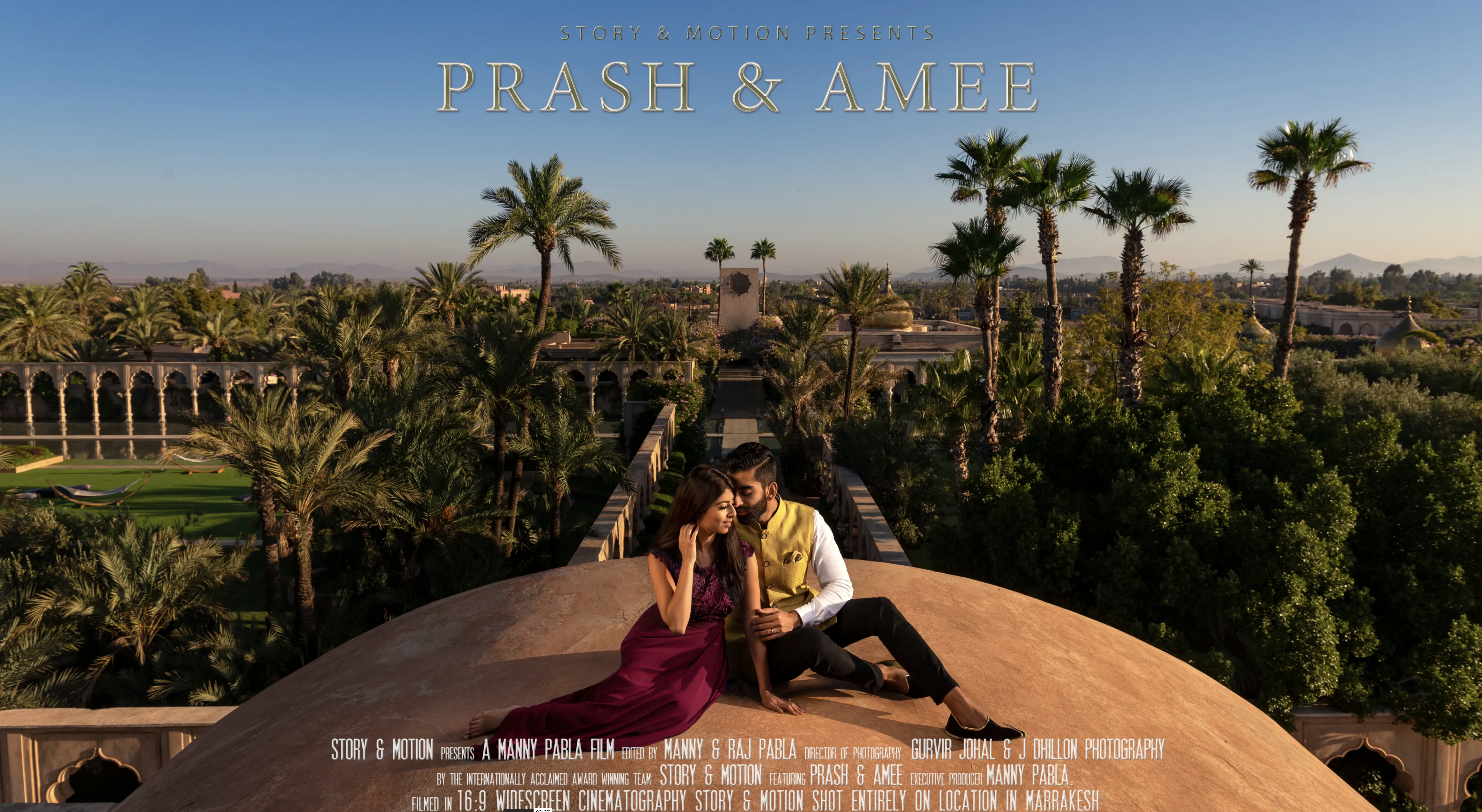 Amee + Prash | Marrakesh, Morocco | Palais Namaskar