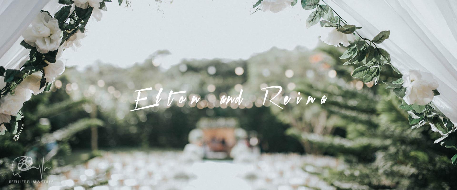 Elton + Reina | Tagaytay, Philippines | the farmhills garden