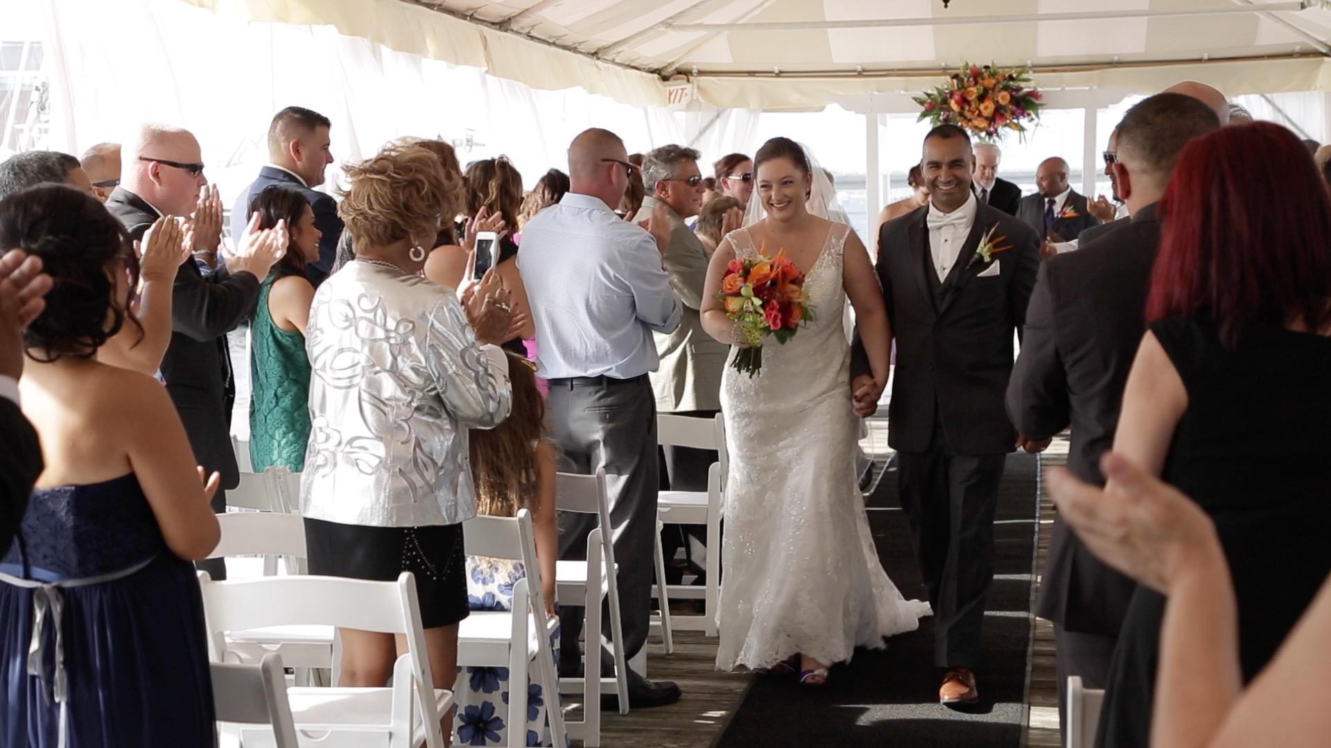 Alicia + John | Newport, Rhode Island | Regatta Place
